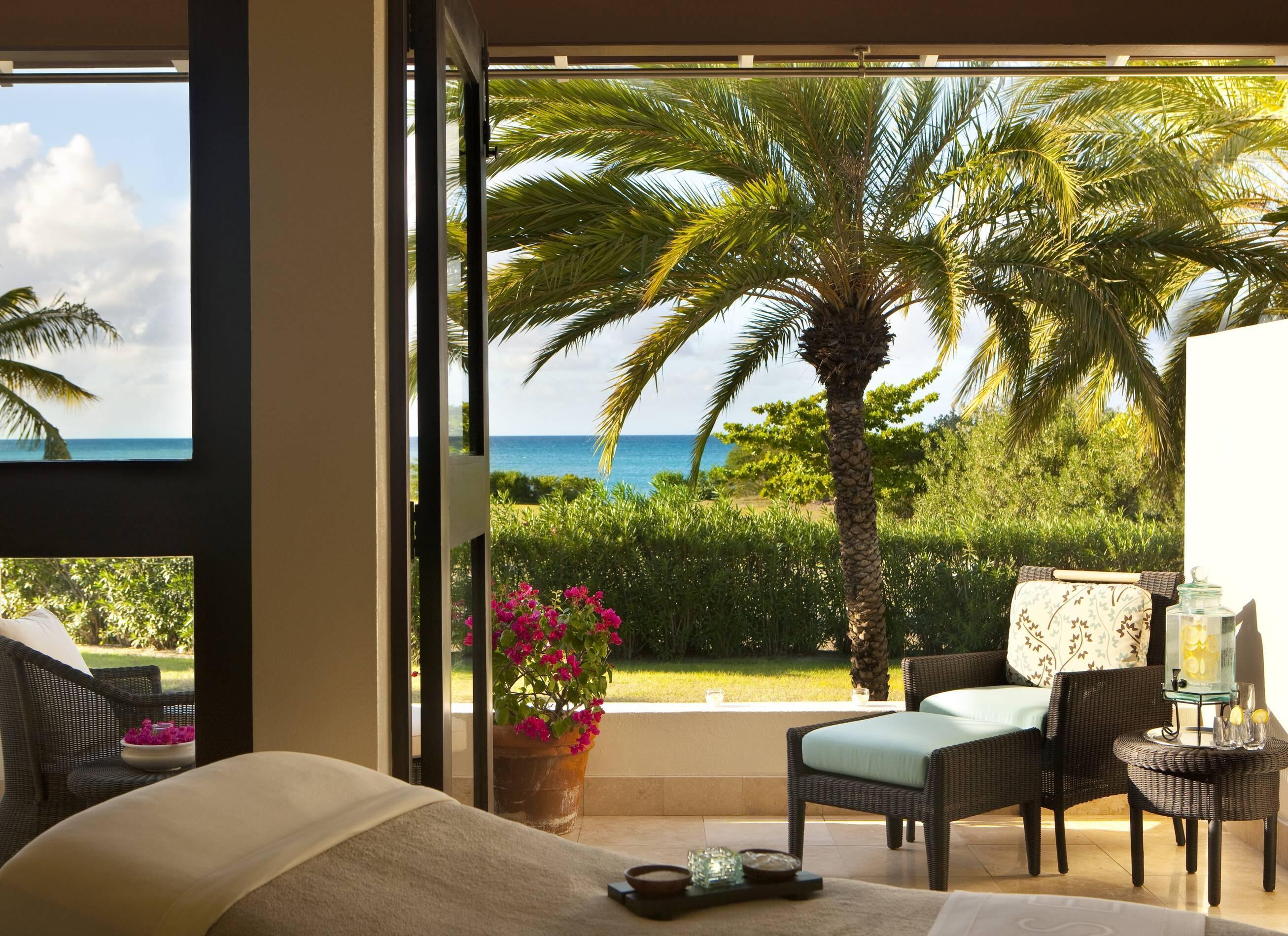 Jumby Bay Antigua et Barbuda spa