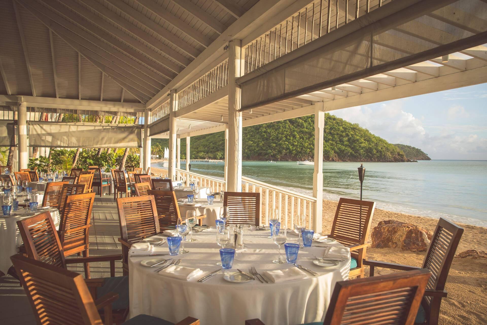 Carlisle Bay Antigua Restaurant Plage