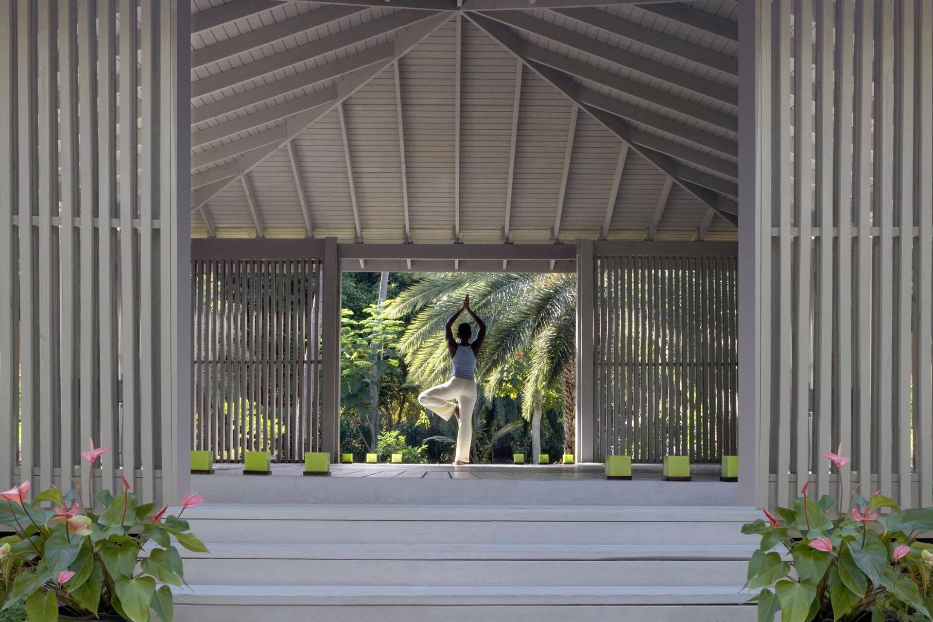 Carlisle Bay Antigua Yoga Pavilion