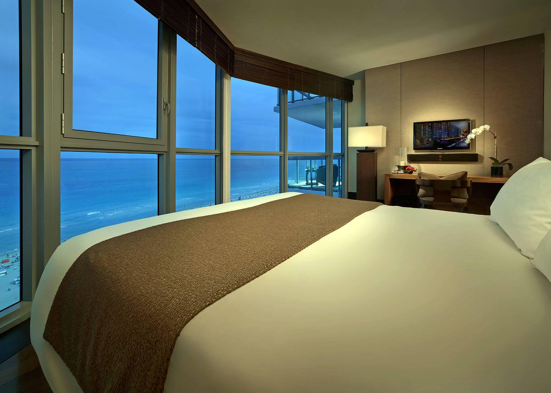 Setai Miami Tower Master Bedroom