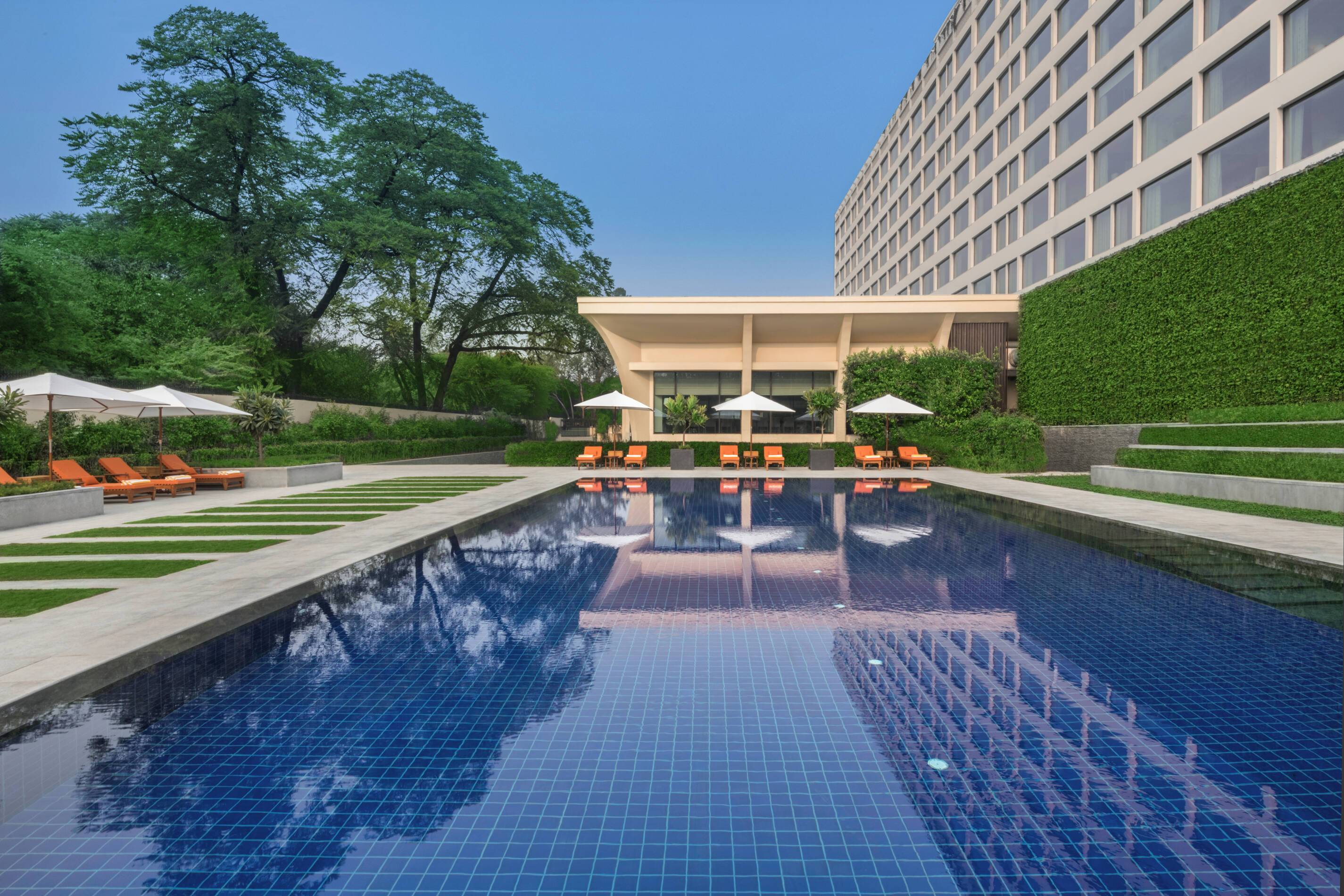 Dehli The Oberoi Inde Piscine