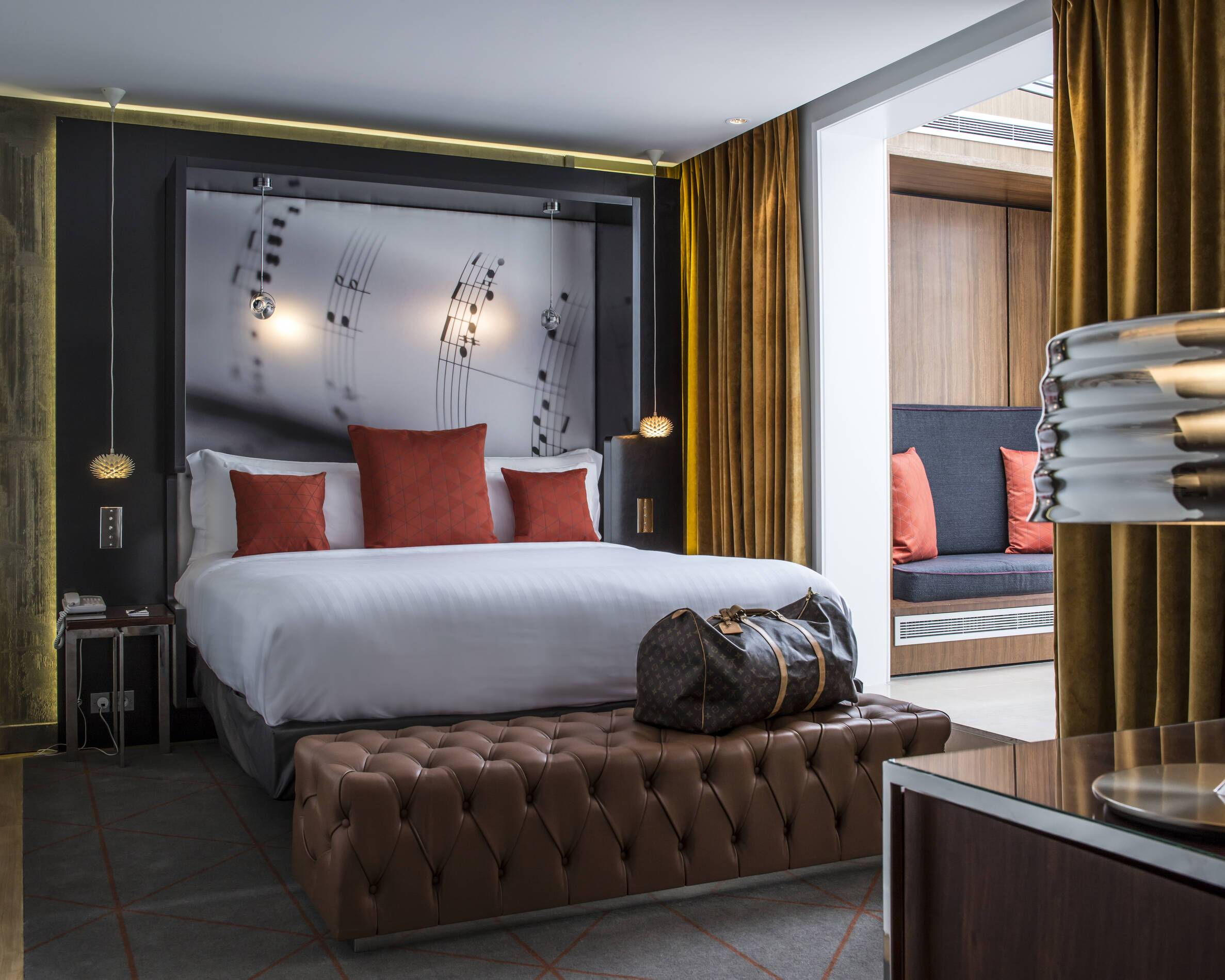 Hotel Sers chambre paris