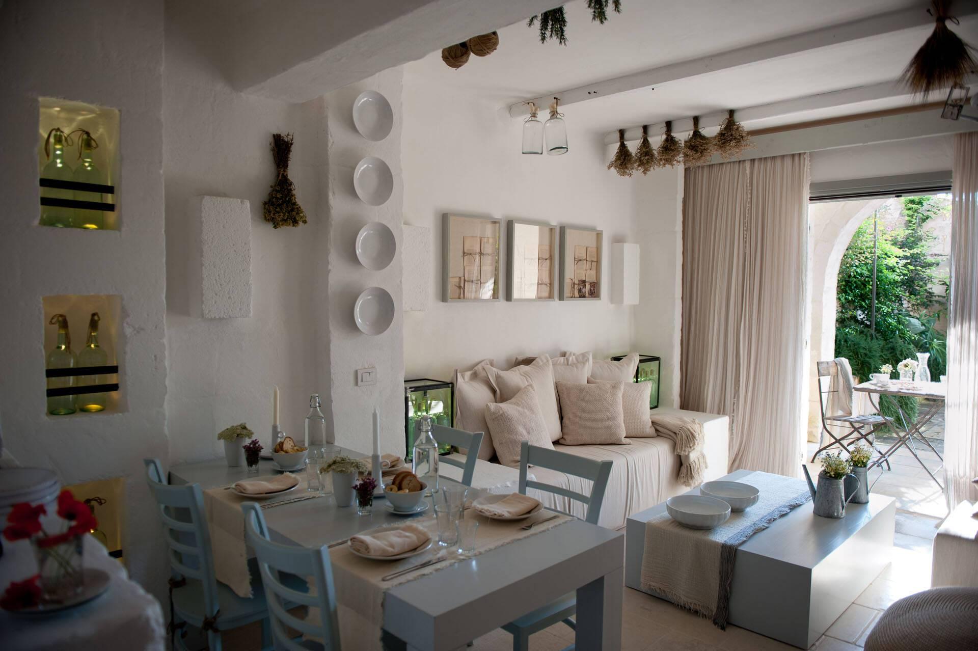 Borgo Egnazia Les Pouilles Casetta Magnifica Living room
