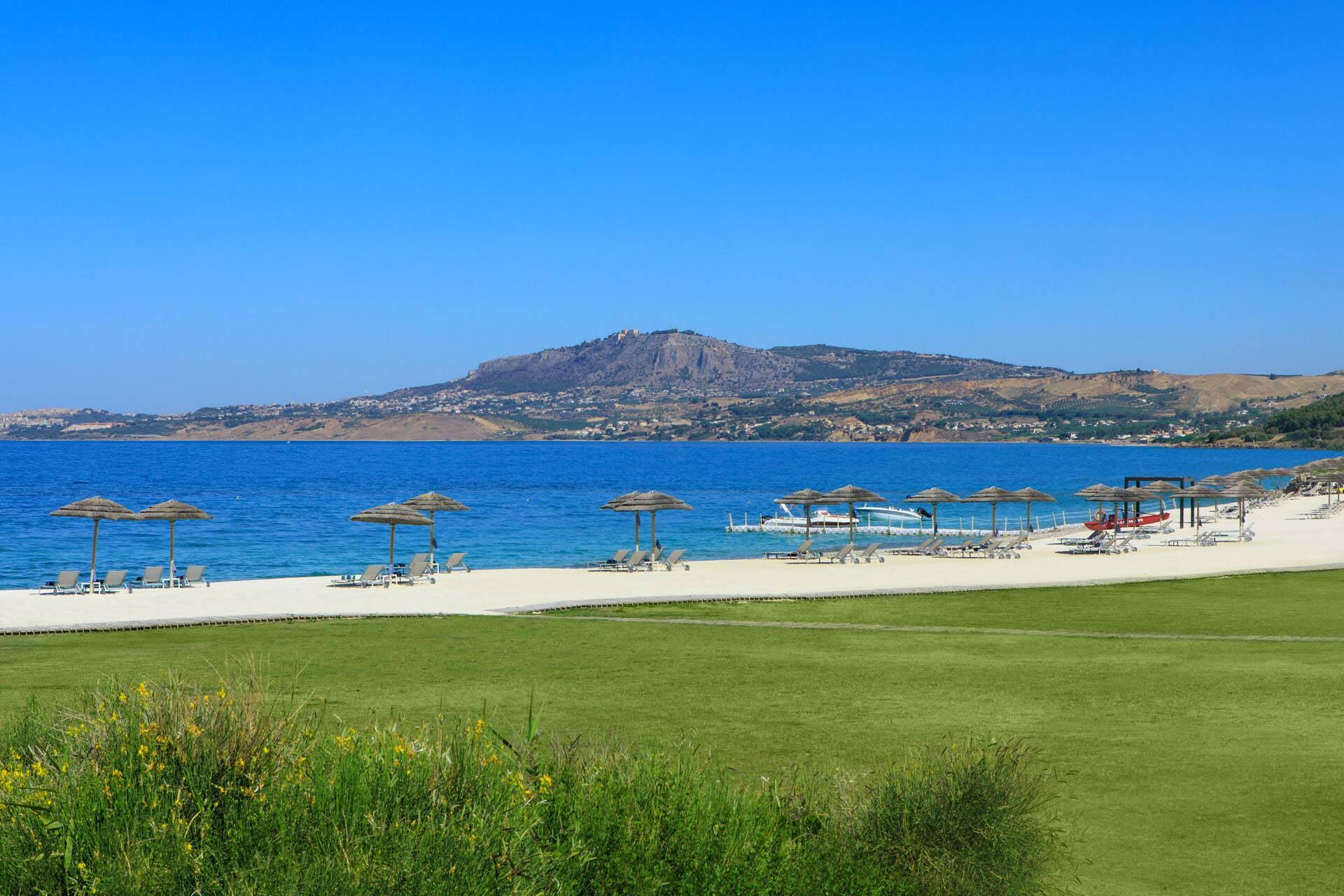 Verdura Resort Sicile Plage