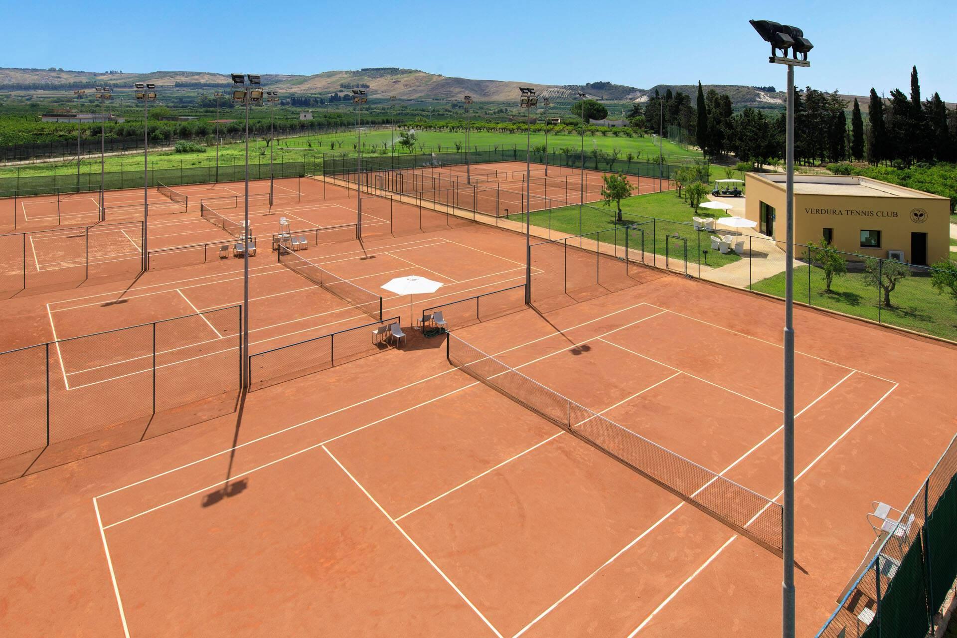 Verdura Resort Sicile Tennis