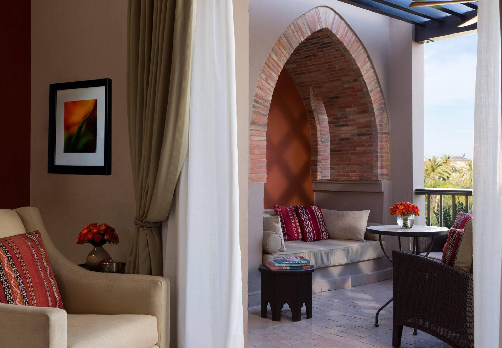 Four Seasons Marrakech Chambre Balcon