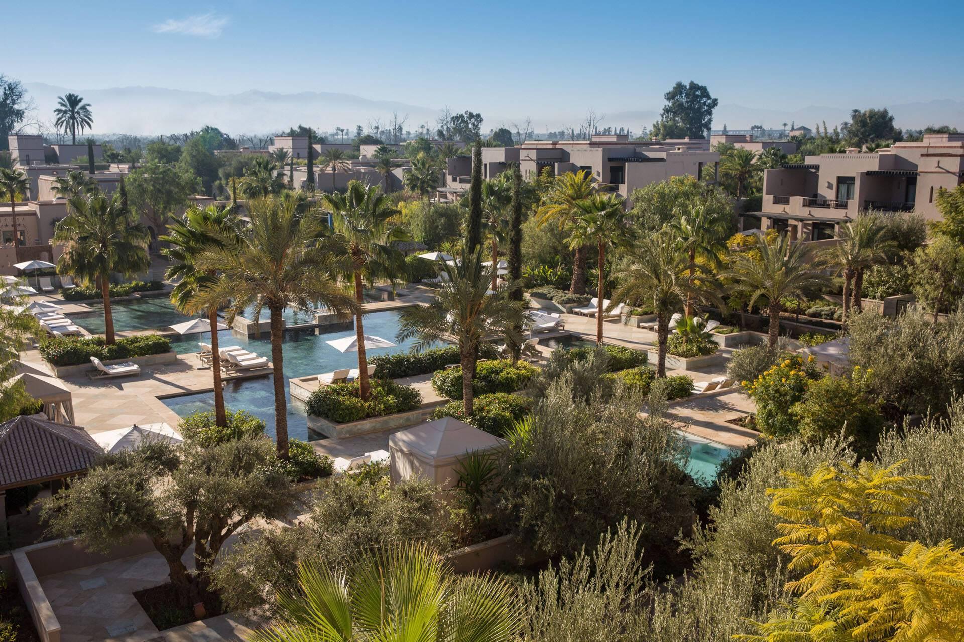 Four Seasons Marrakech Family Pool