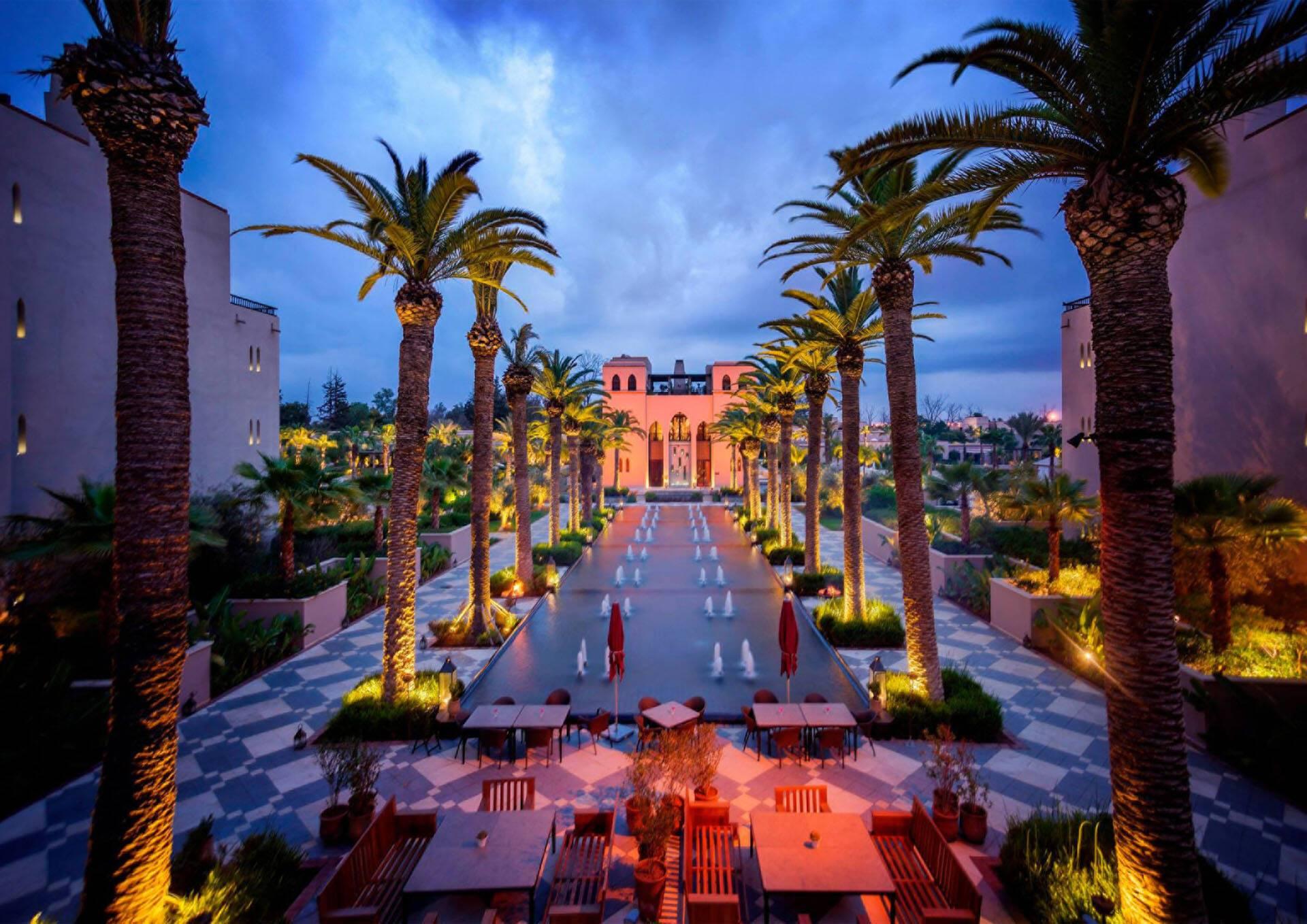 Four Seasons Marrakech Fontaine