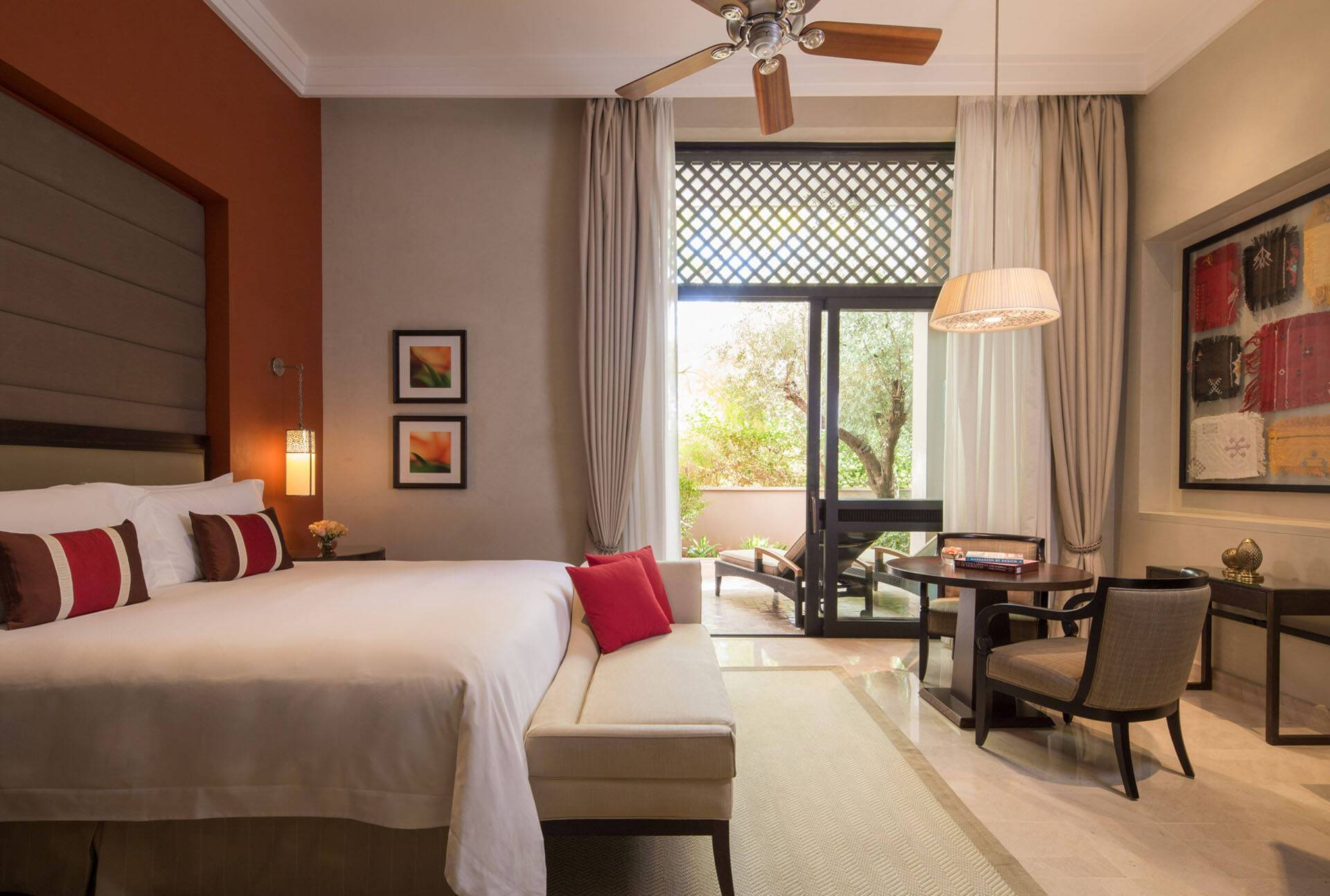 Four Seasons Marrakech Garden View Terrace Room
