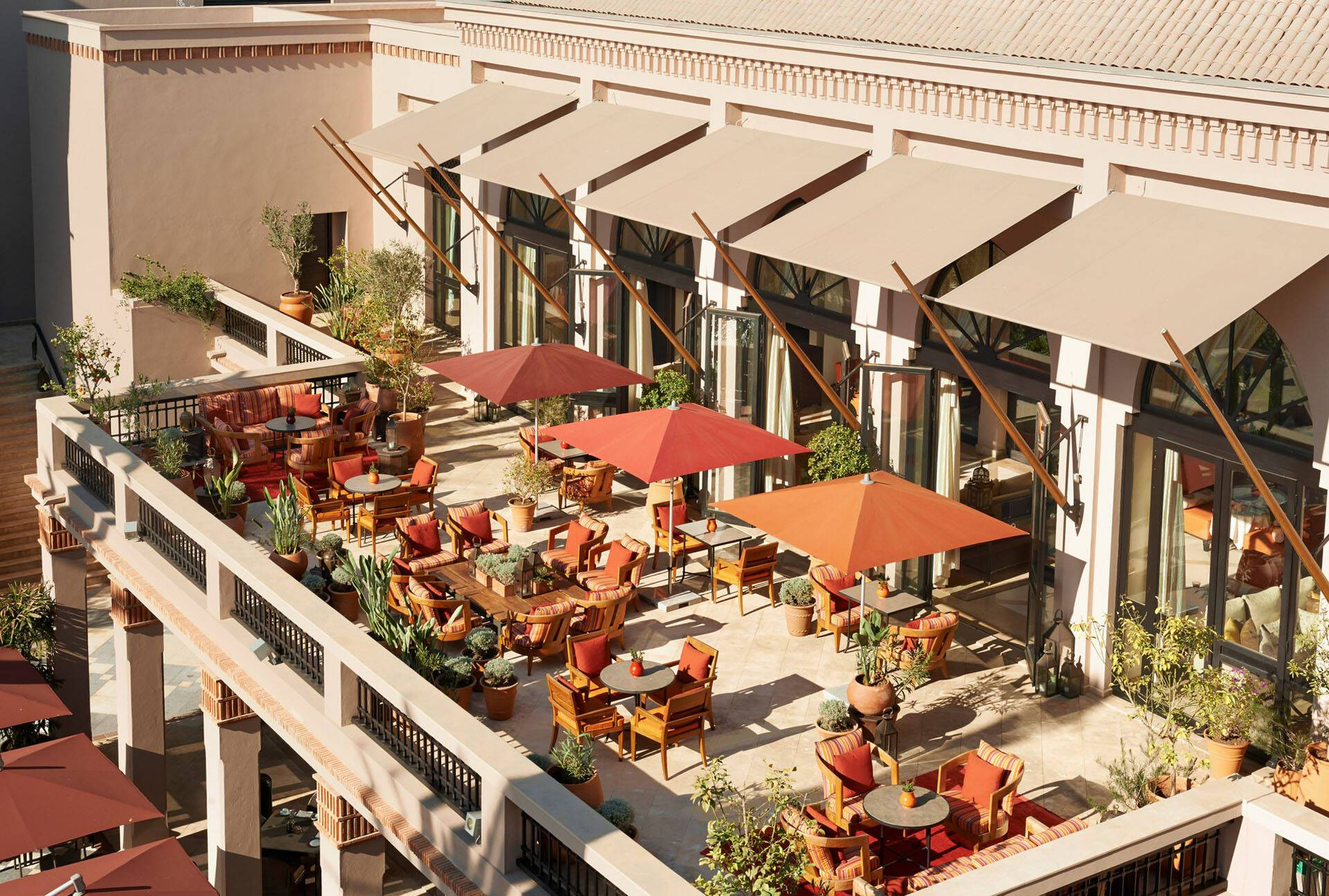 Four Seasons Marrakech Inara Lounge Terrace