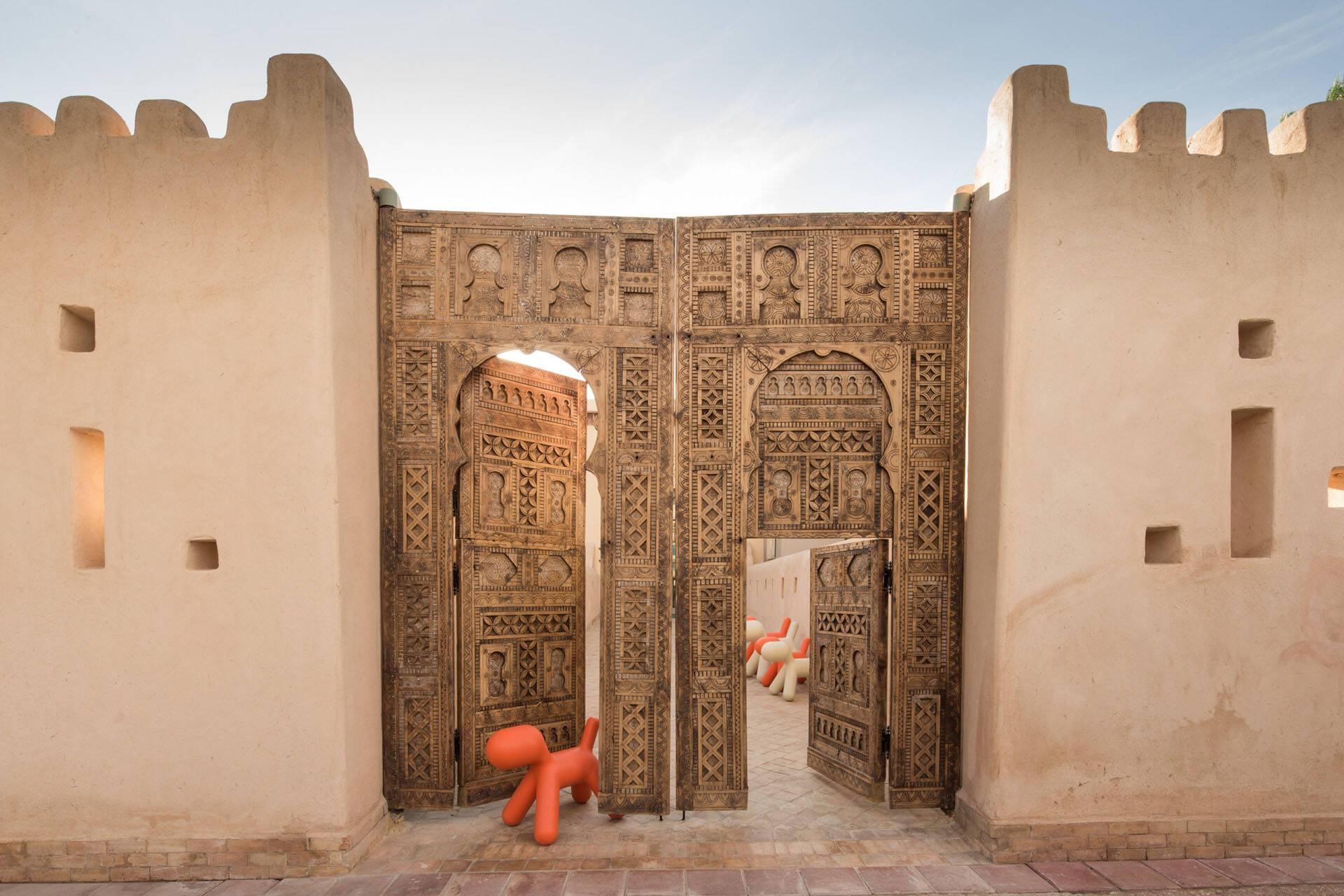 Four Seasons Marrakech Kids Club Entree
