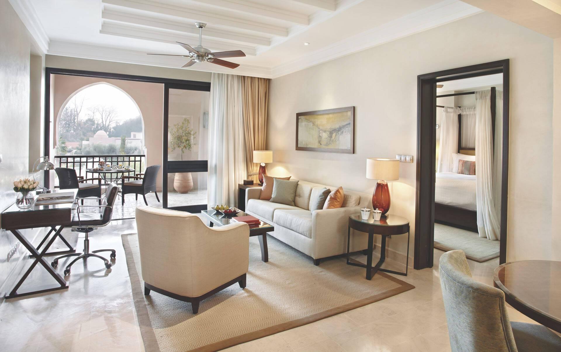 Four Seasons Marrakech Pool View Terrace Suite