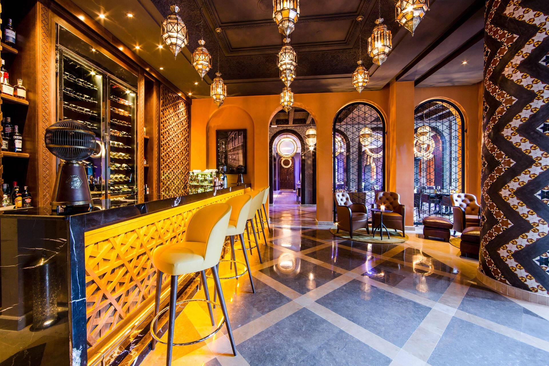 Four Seasons Marrakech Quattro Bar