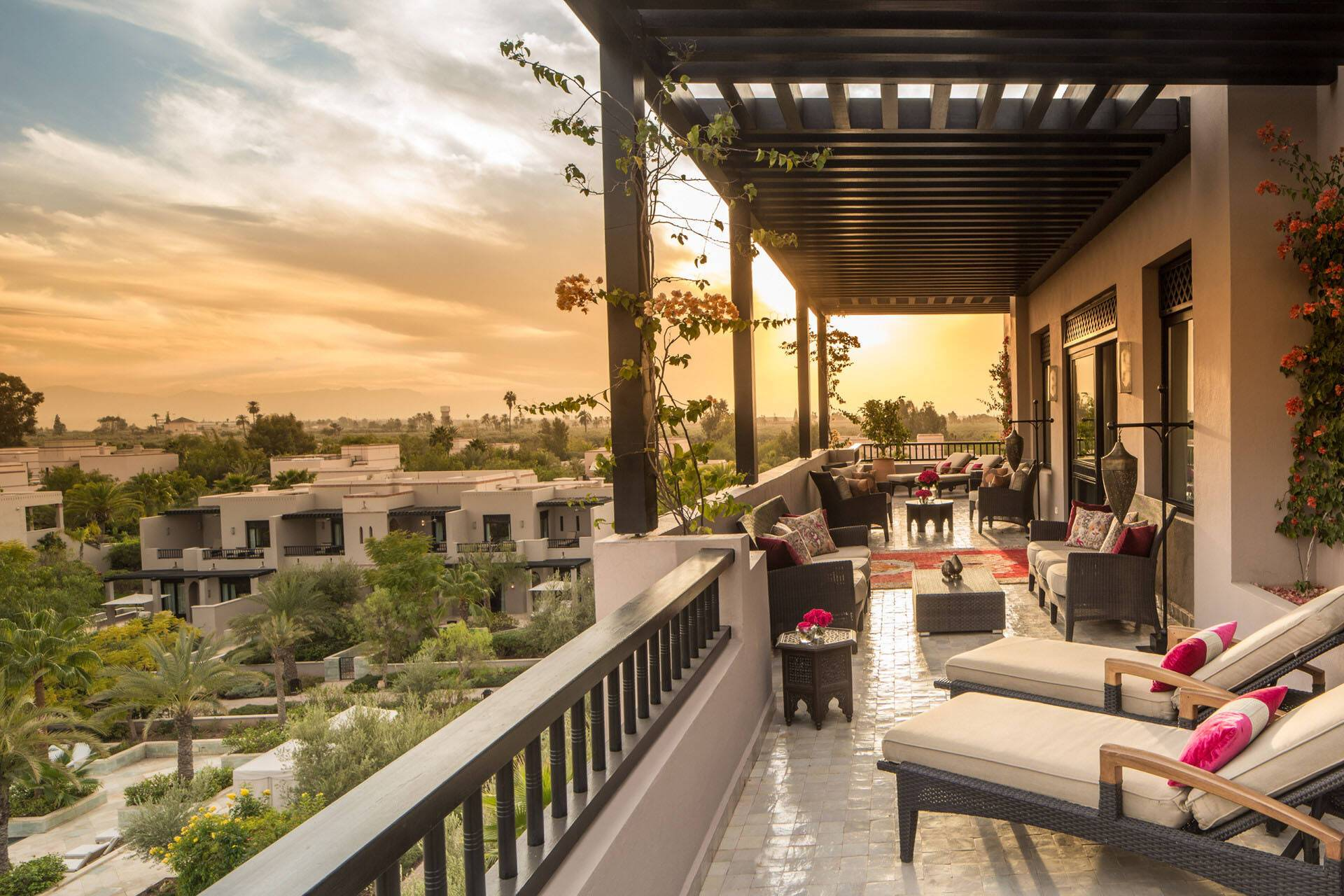 Four Seasons Marrakech Two Bedroom Panoramic Presidential Suite