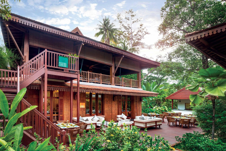 Siem Reap Belmond Residence Angkor Facade Circuit Indochine