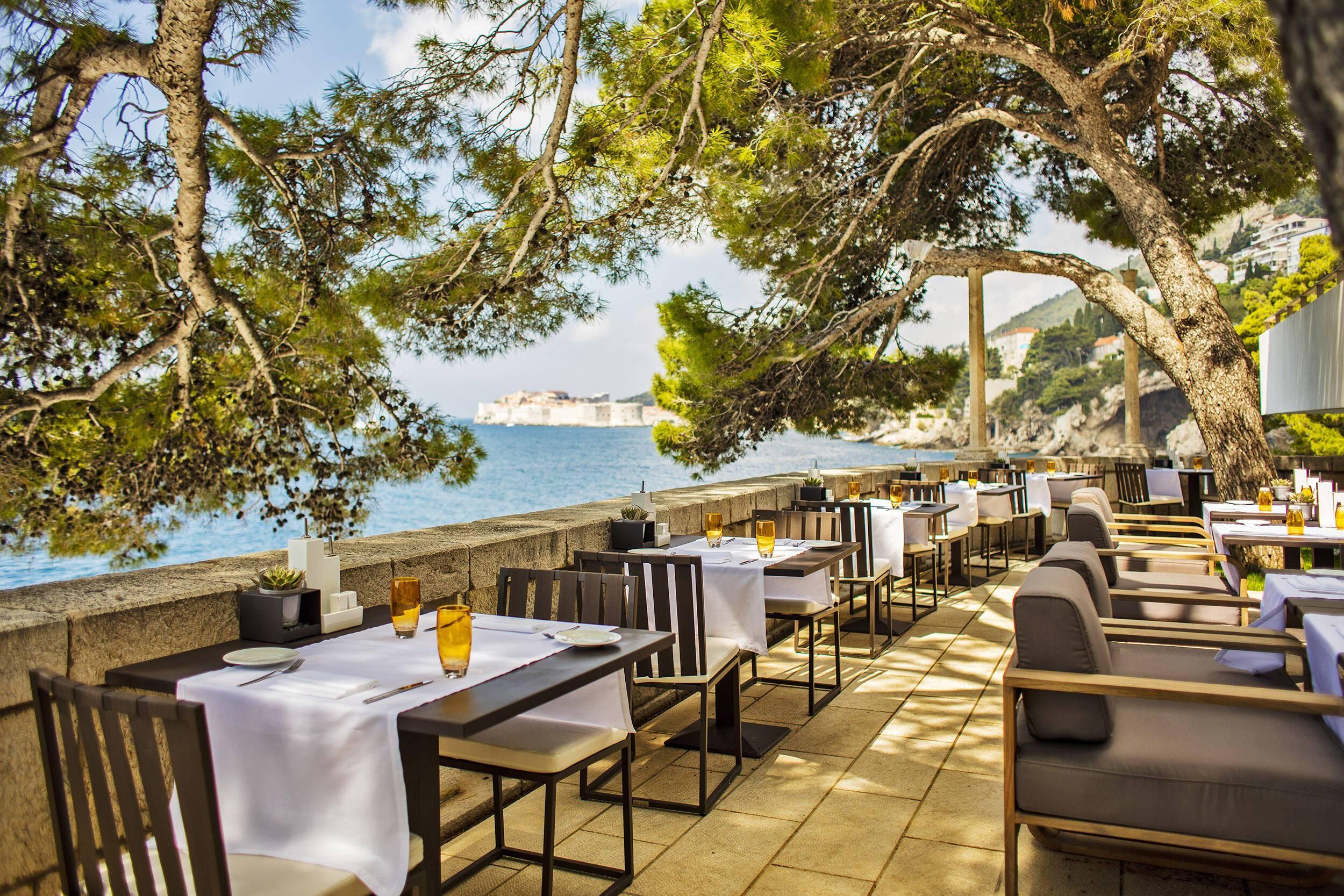 Villa Dubrovnik Bar Al Fresco Croatie