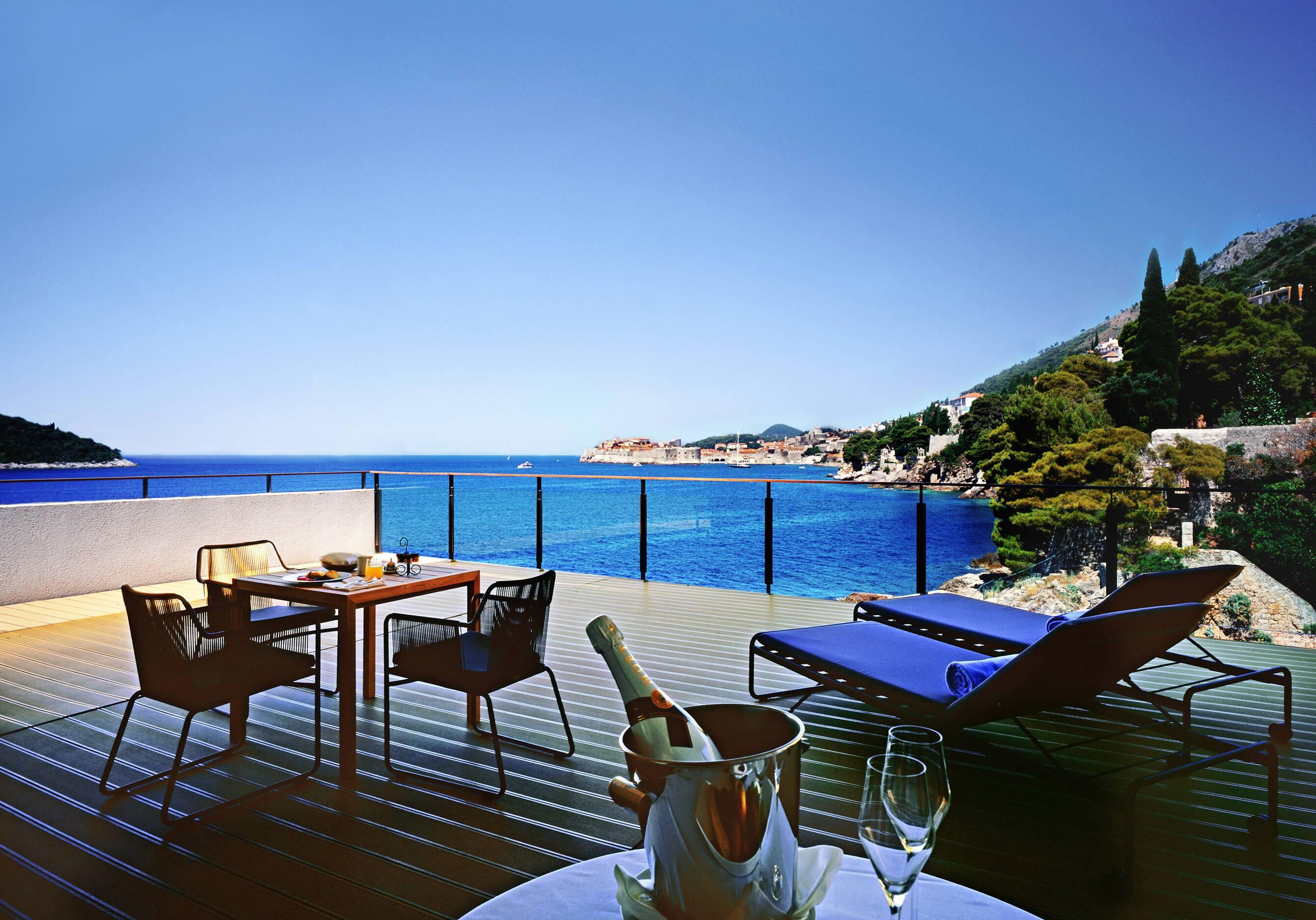 Villa Dubrovnik Dukes Suite Terrasse Croatie