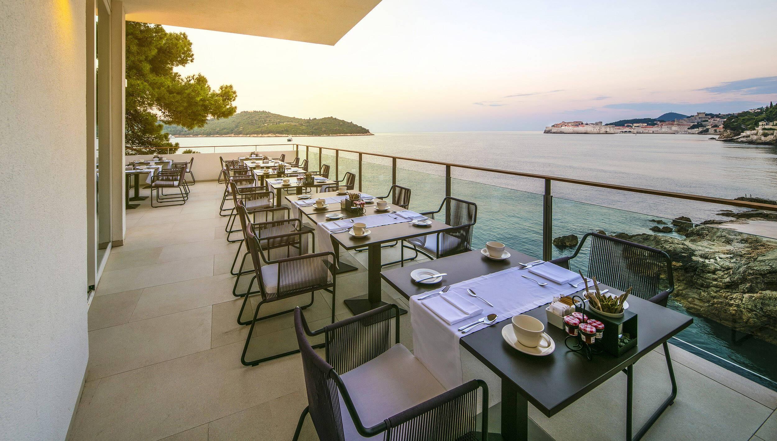 Villa Dubrovnik Restaurant Pjerin Croatie