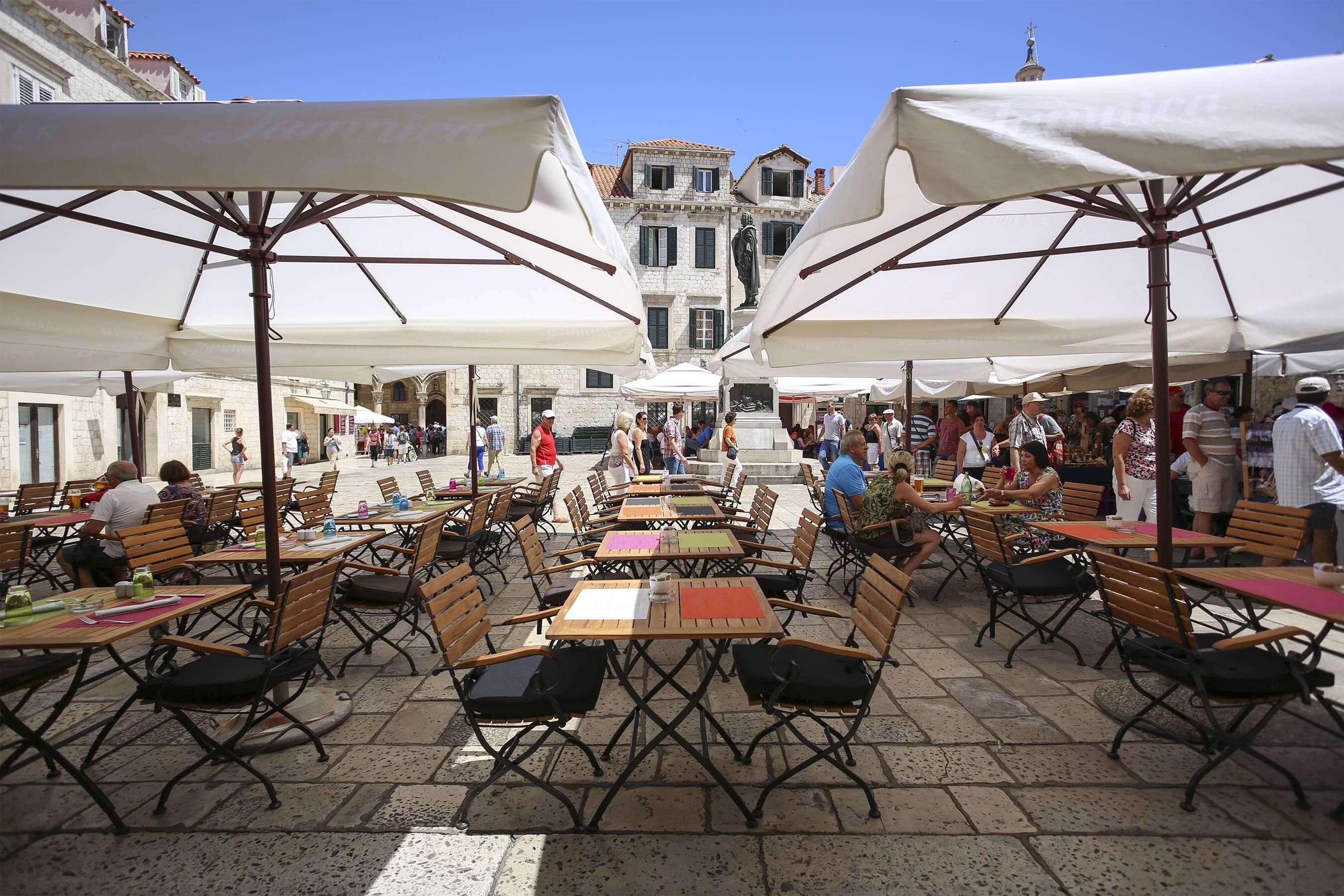 Pucic Palace Dubrovnik Croatie terrasse Adriatic Images