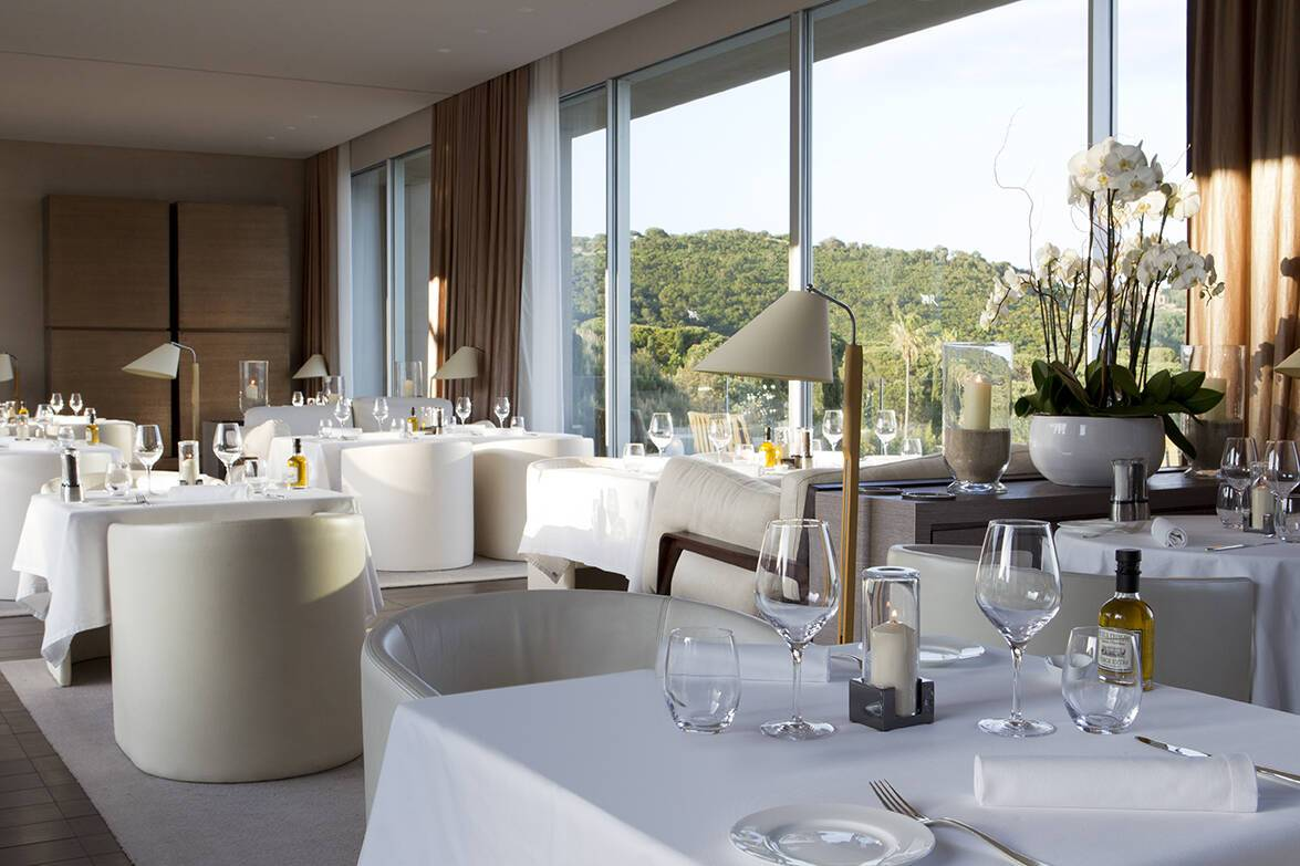 La Reserve Ramatuelle Restaurant La Voile Cote D Azur