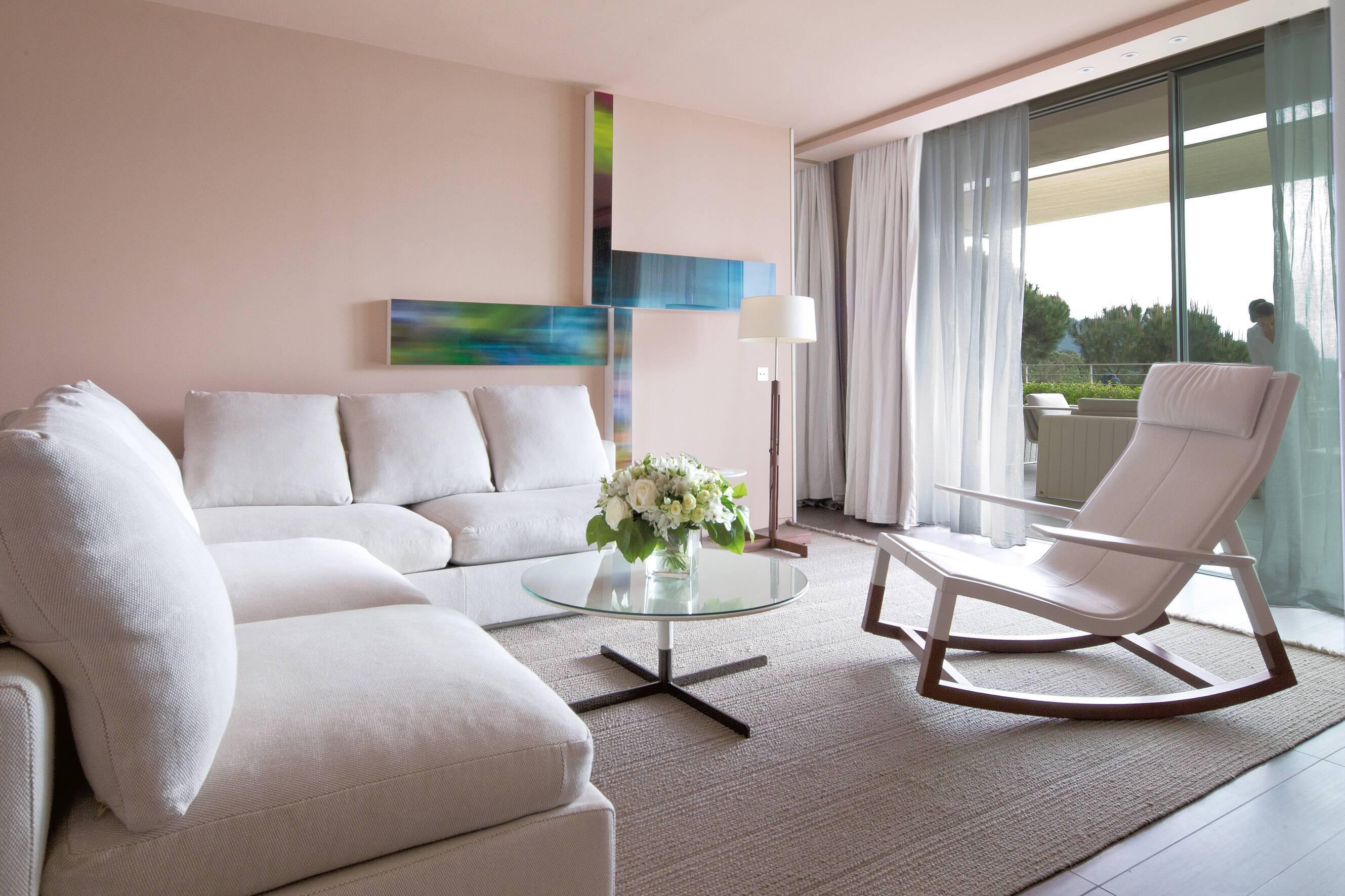 La Reserve Ramatuelle Suite Camarat Living Cote D Azur
