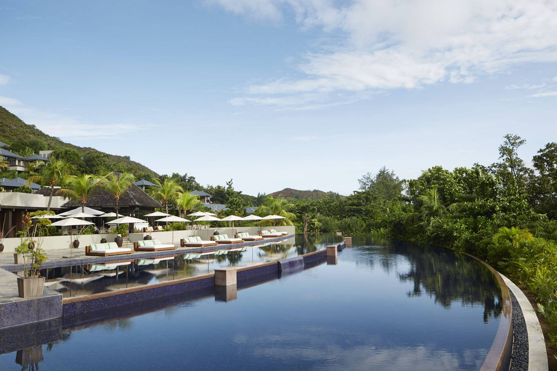 Raffles Seychelles Piscine