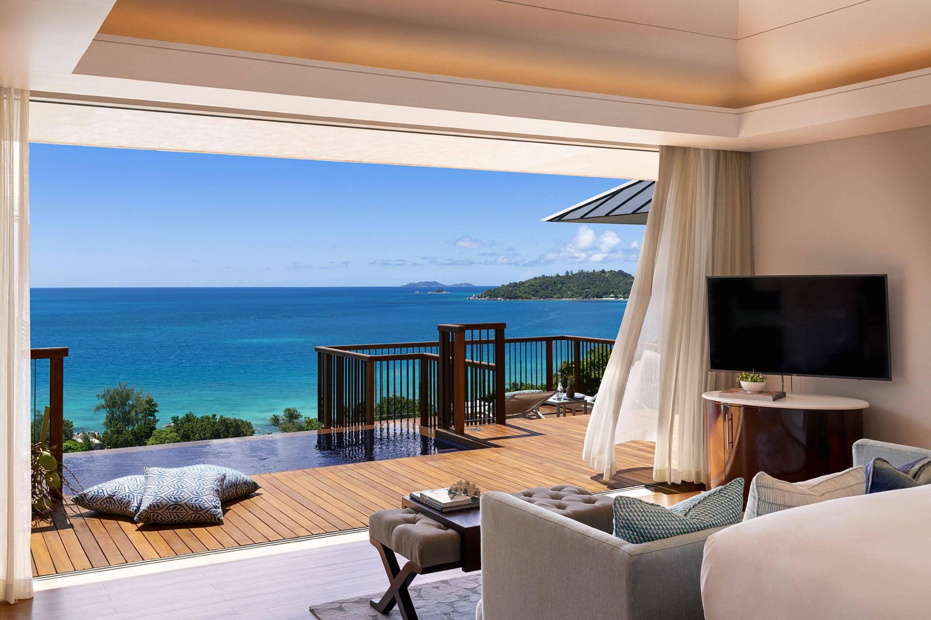 Raffles Seychelles Praslin Ocean View Villa