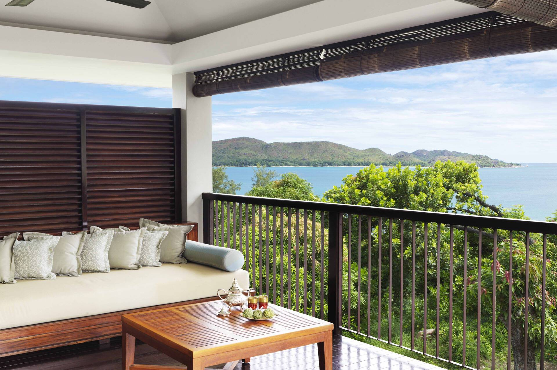 Raffles Seychelles Terrasse