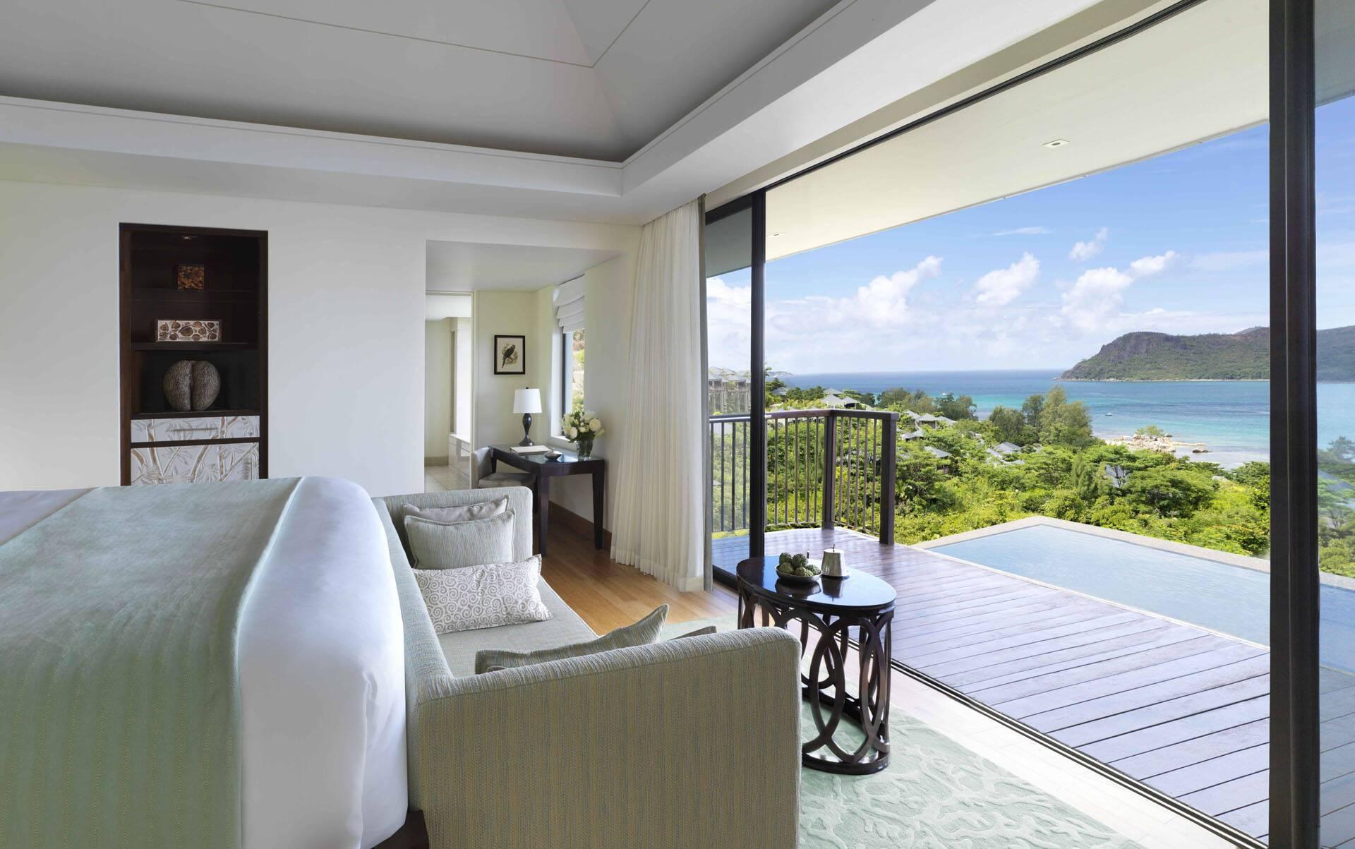 Raffles Seychelles Vue Pool Villa