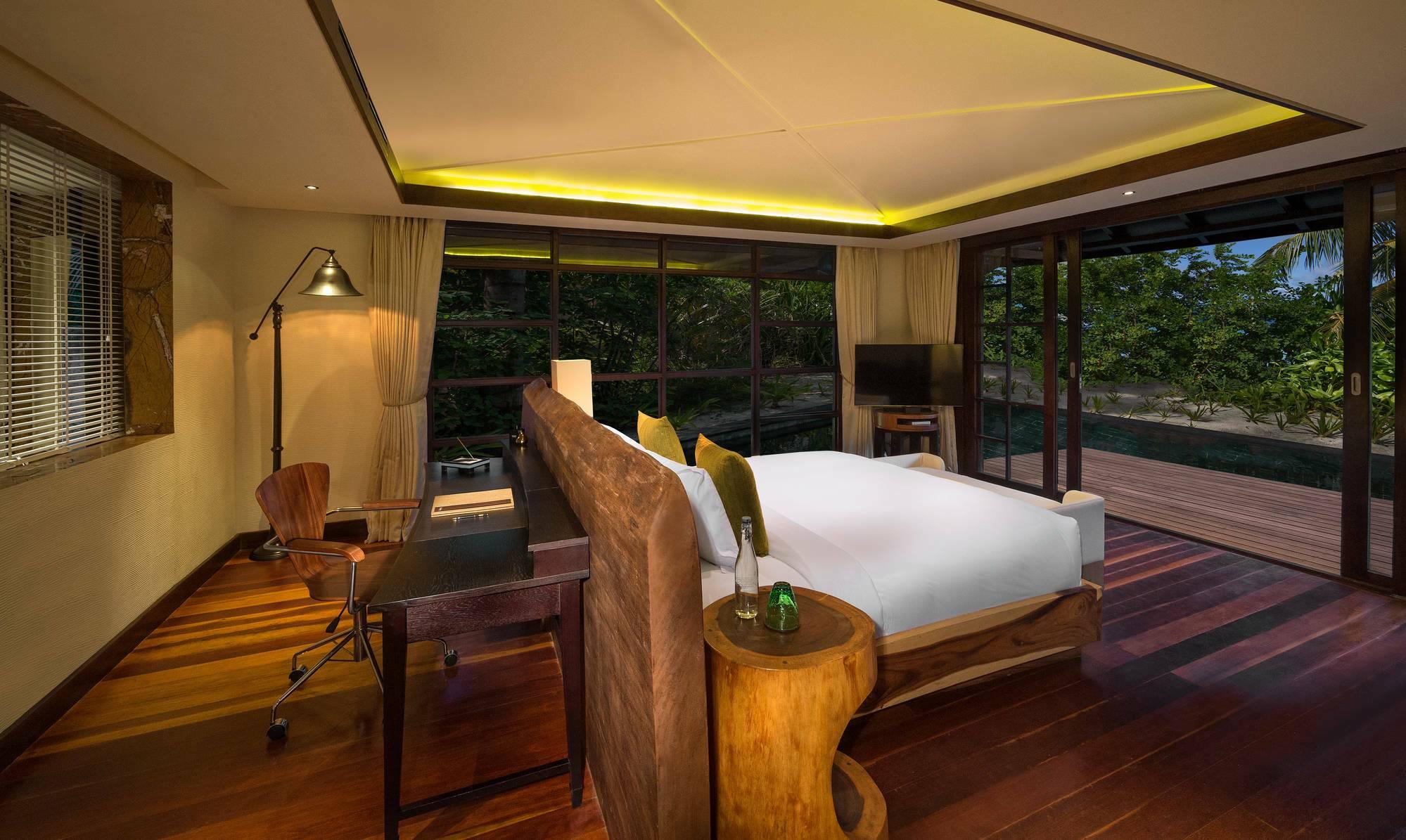 Jumeirah Vittaveli Beach Suite Chambre Maldives