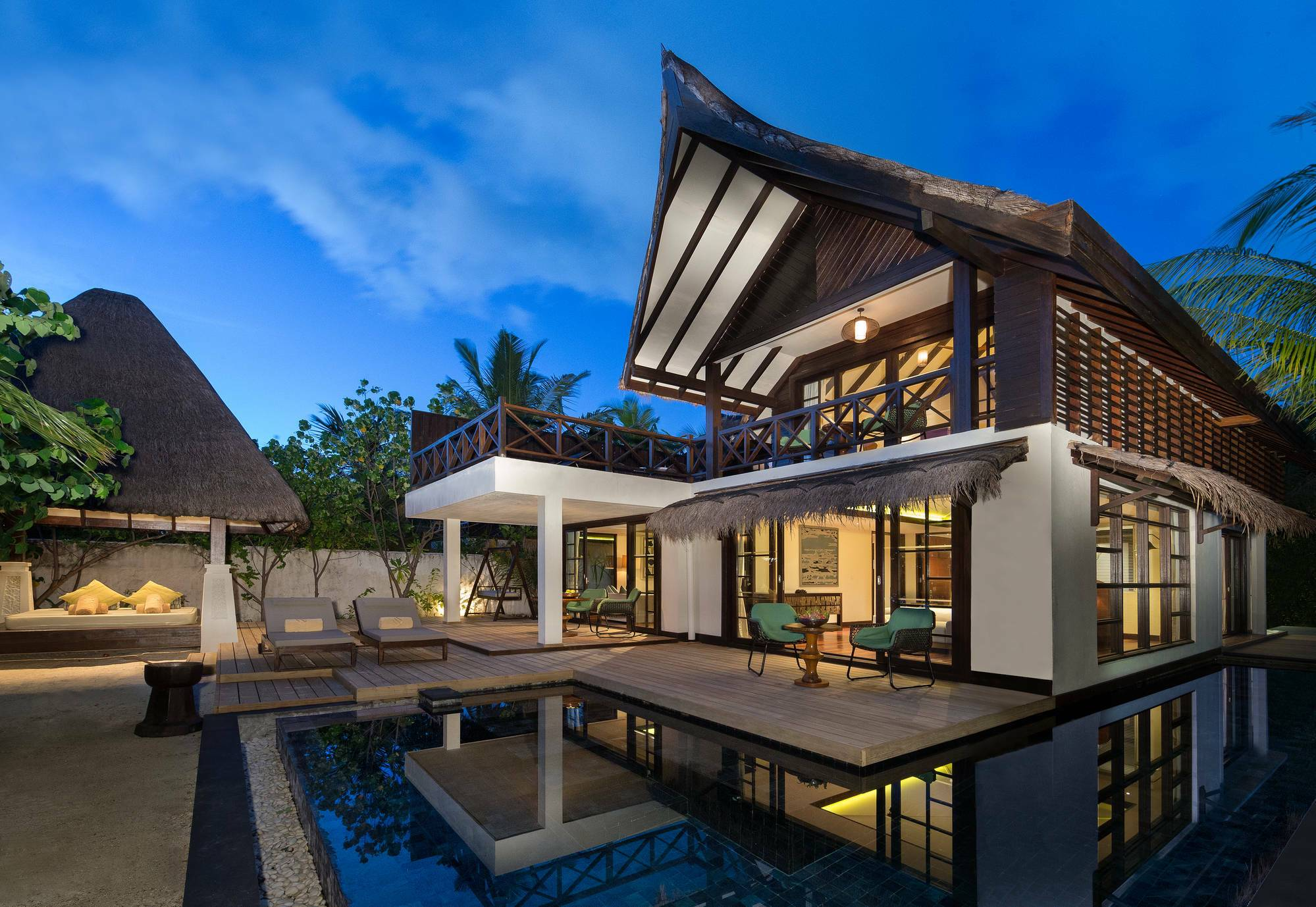 Jumeirah Vittaveli Beach Suite Exterieur Maldives