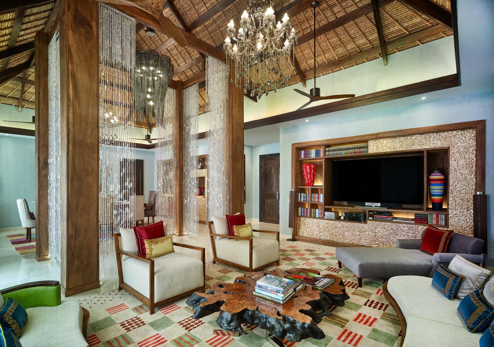 Jumeirah Vittaveli Royal Residence Living Maldives