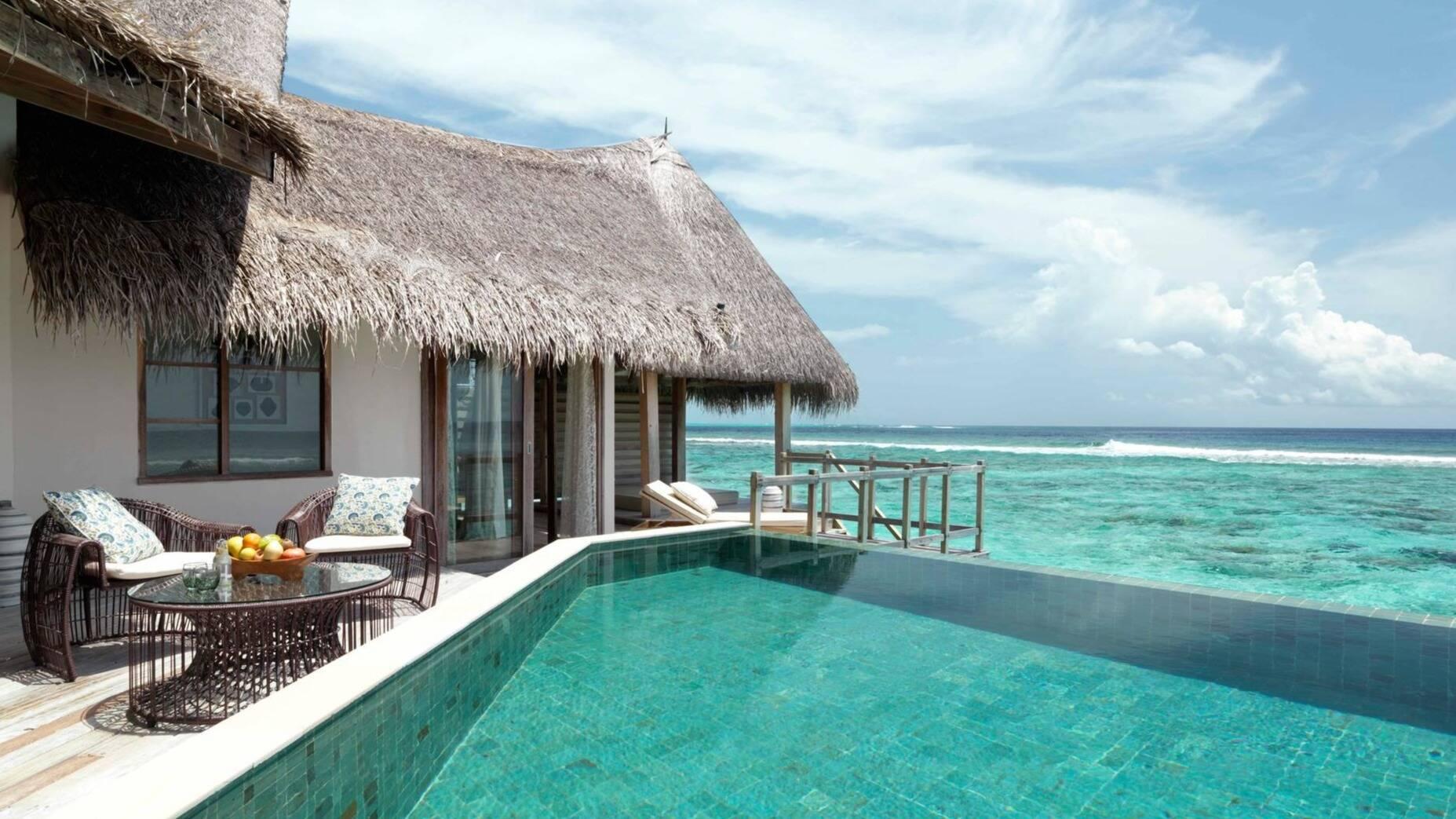 Jumeirah Vittaveli Water Villa Piscine Privee Maldives