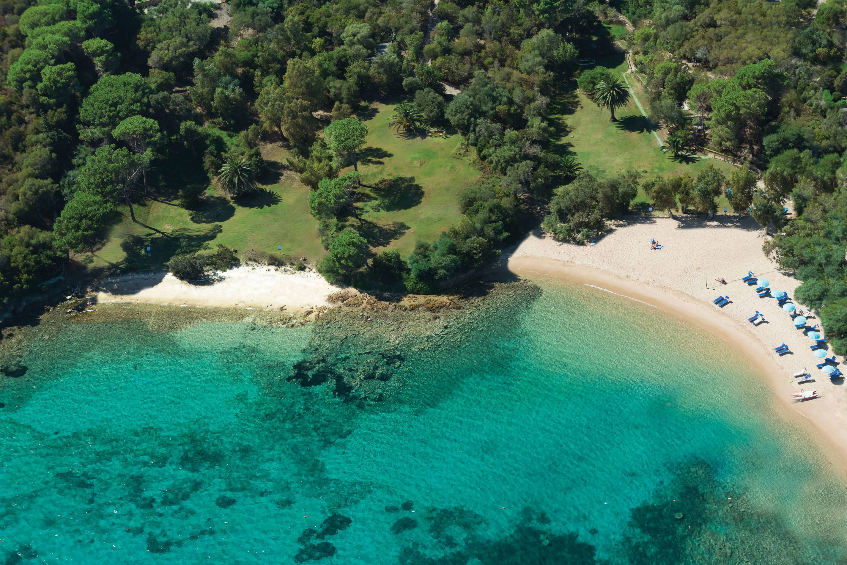 Capo d Orso Sardaigne plage cala capra
