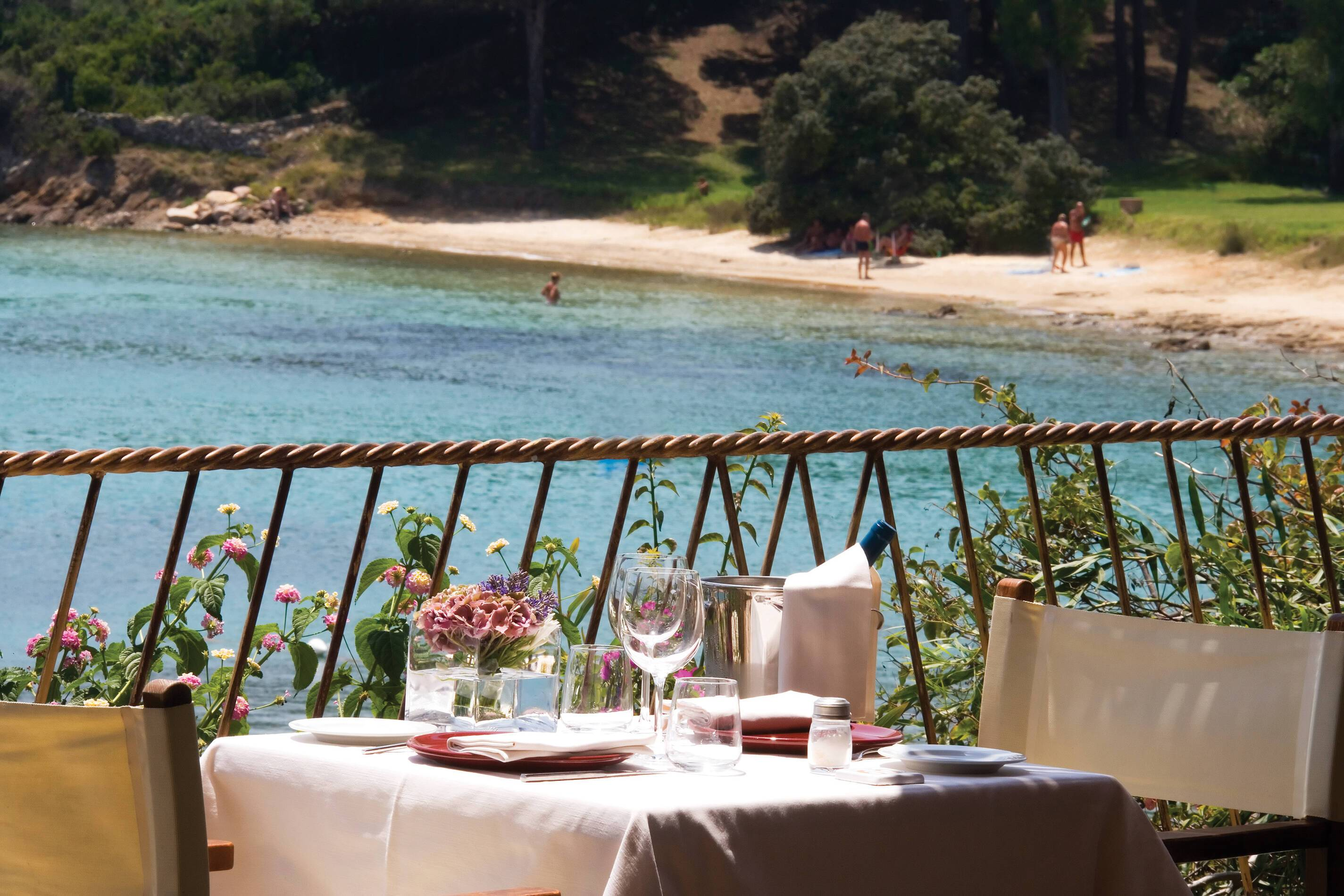 Capo d Orso Sardaigne restaurant il paguro