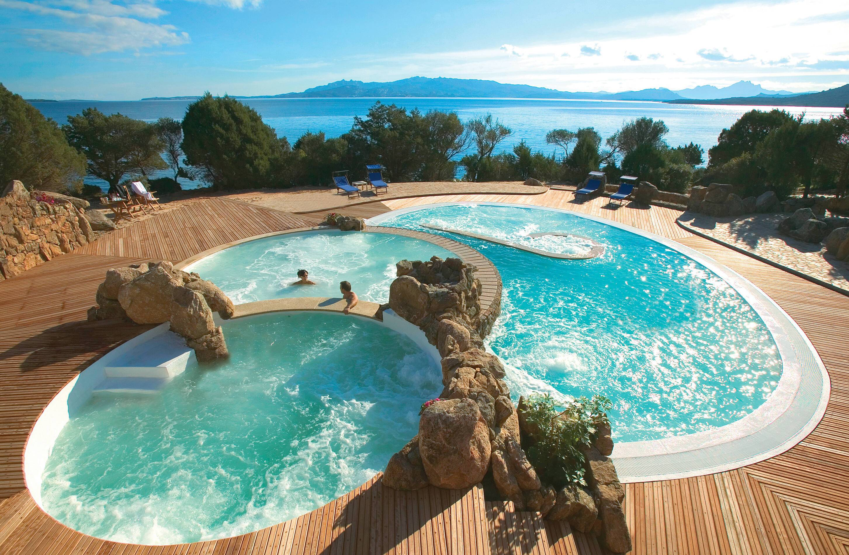 Capo d Orso Sardaigne thalasso piscine