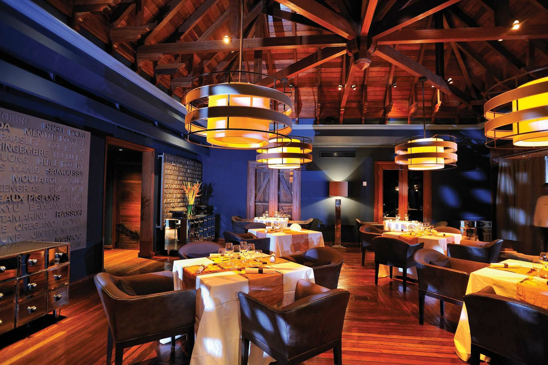 Maradiva Maurice Restaurant Cilantro Indian Restaurant