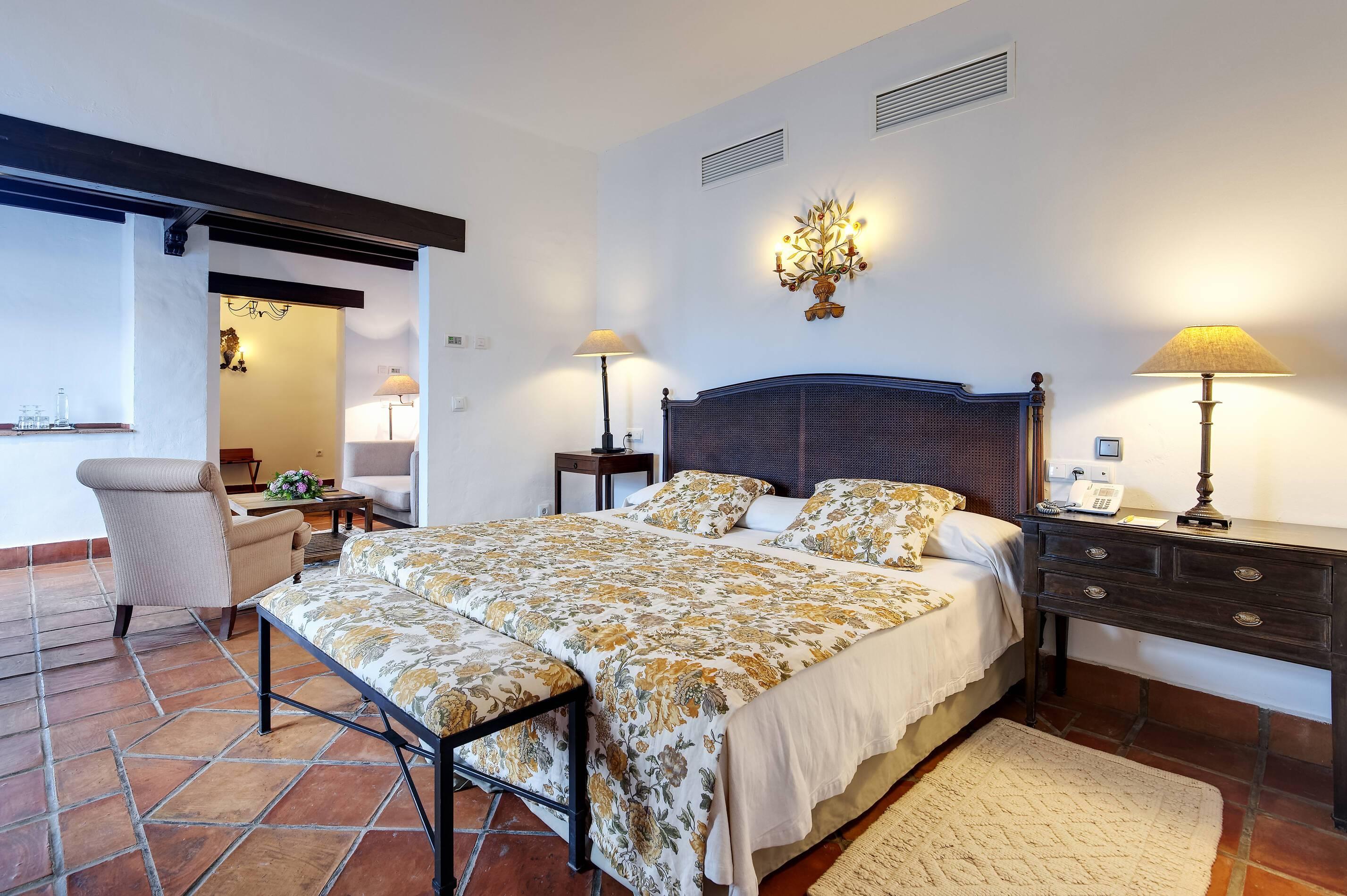 Barcelo la Bobadilla Andalousie deluxe superior terrace chambre