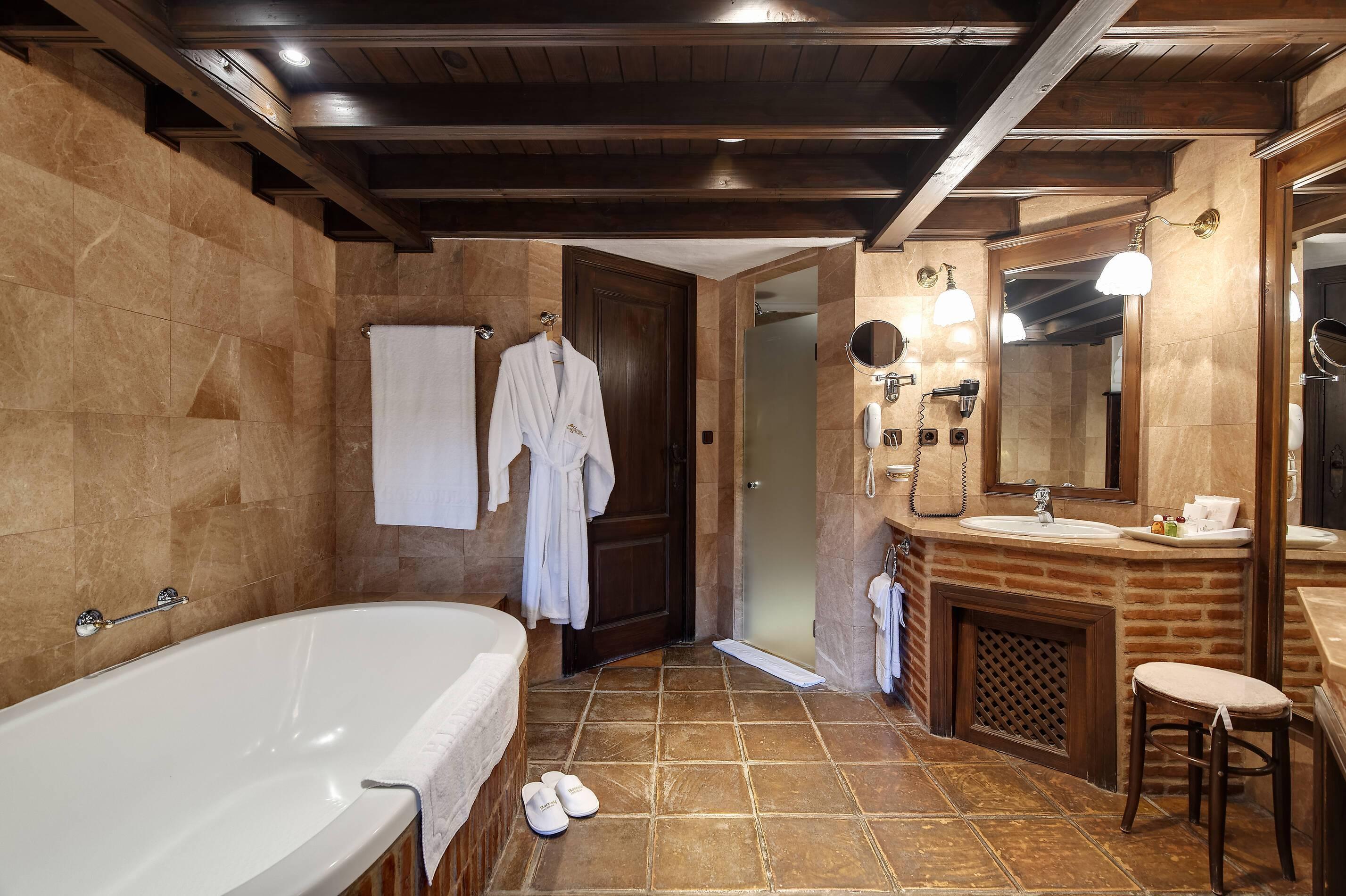 Barcelo la Bobadilla Andalousie junior suite salle de bain