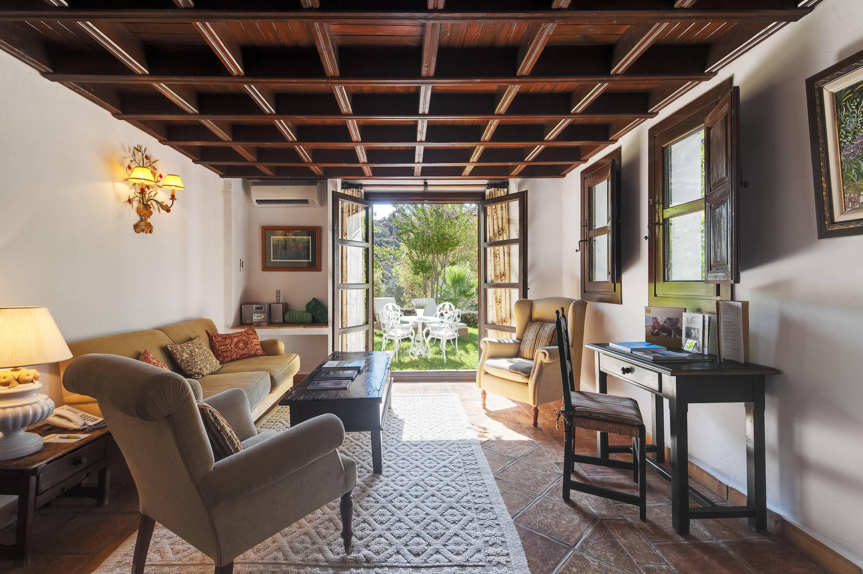 Barcelo la Bobadilla Andalousie suite deluxe salon