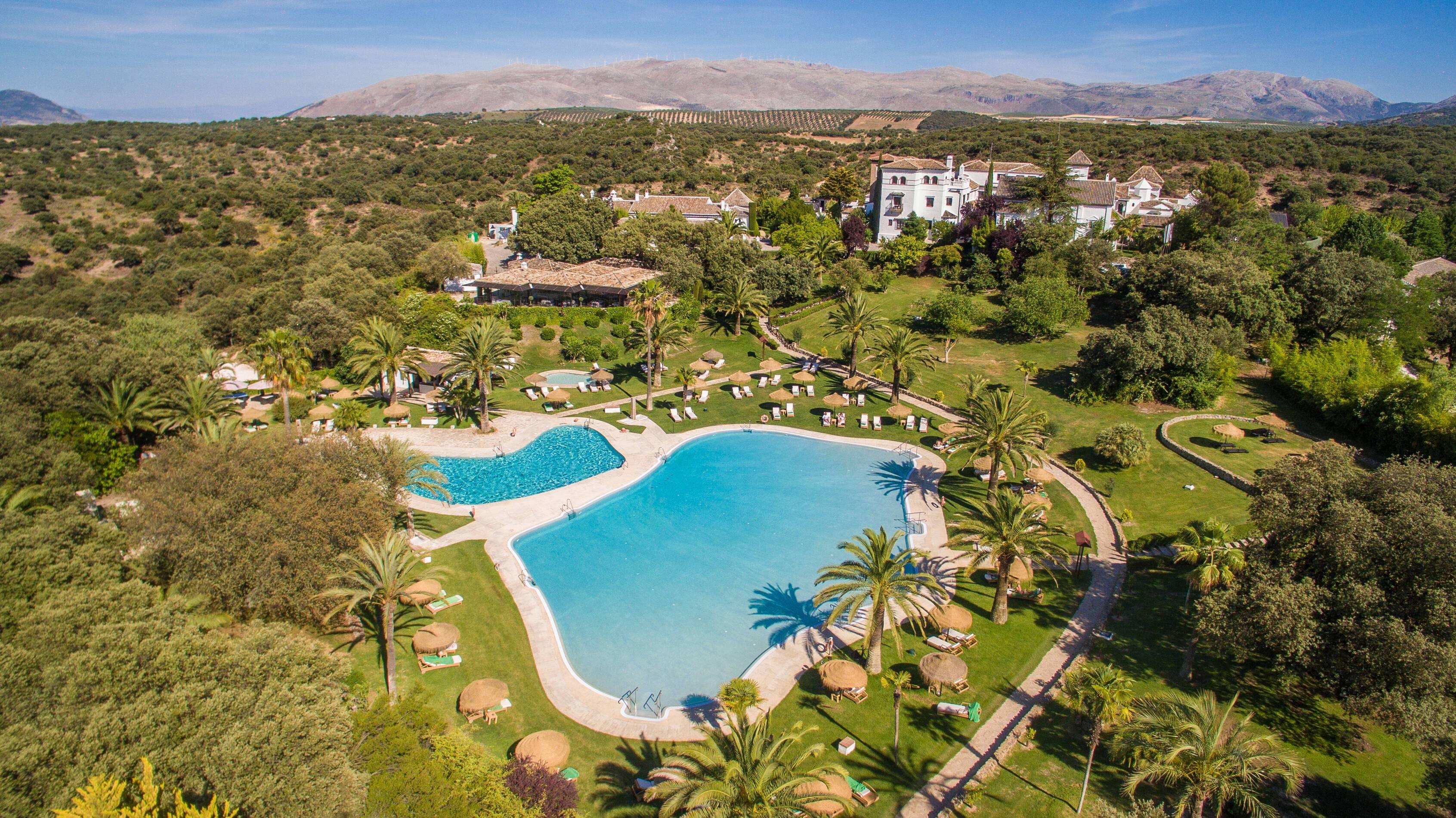Barcelo la Bobadilla Andalousie vue exterieur