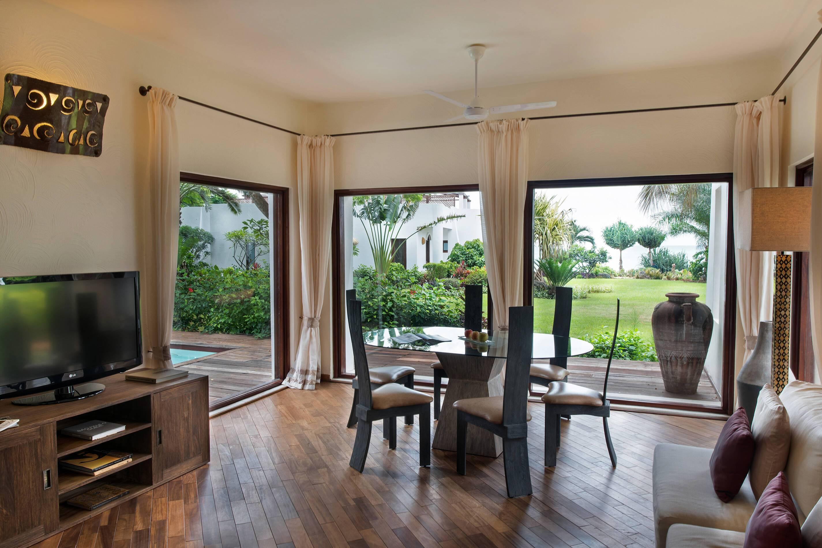 Essque Zalu Villa Living Zanzibar