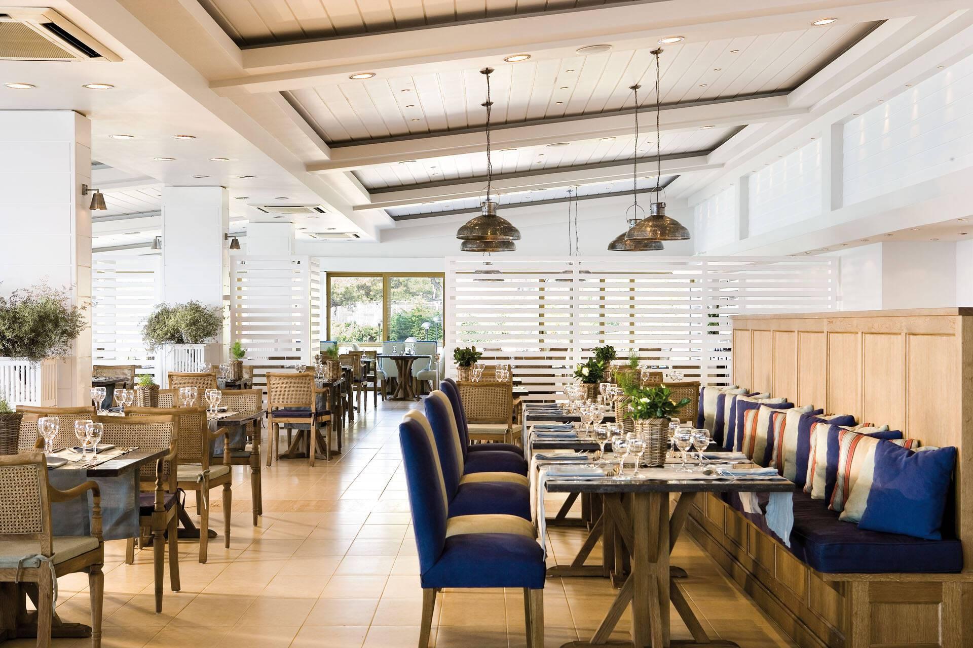 Sani Club Kassandra Grece Restaurant Olympos