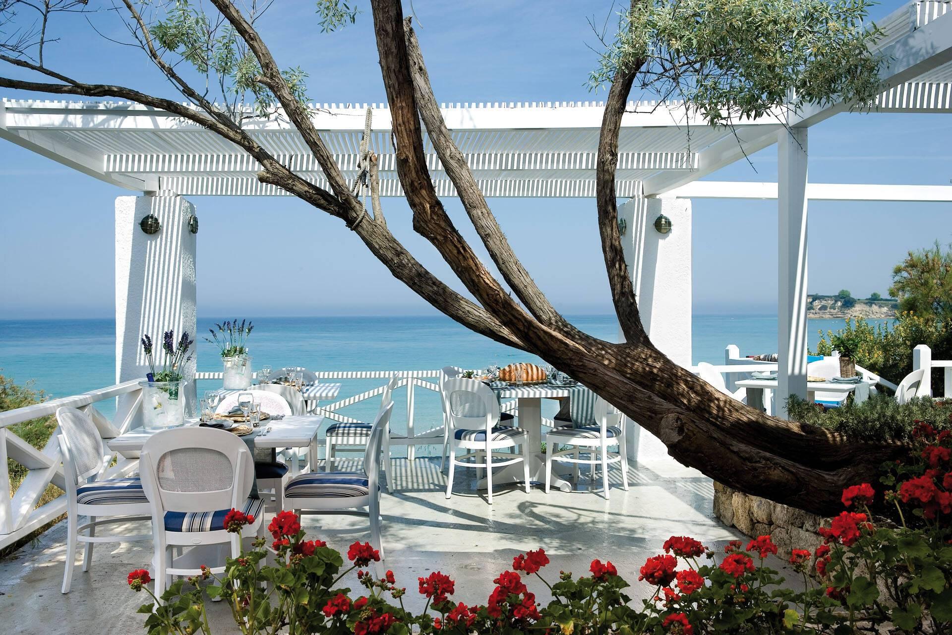 Sani Club Kassandra Grece Restaurant Ouzerie