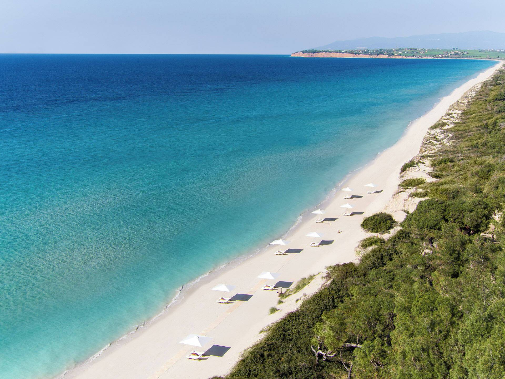 Sani Resort Thessalonique Grece Sani Bousoulas Plage