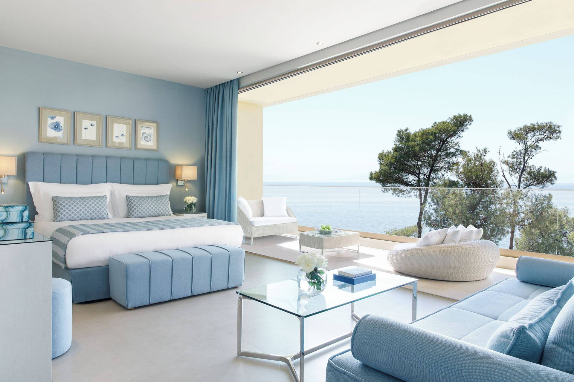 Sani Resort Thessalonique Grece Sani Club Grand Blacony