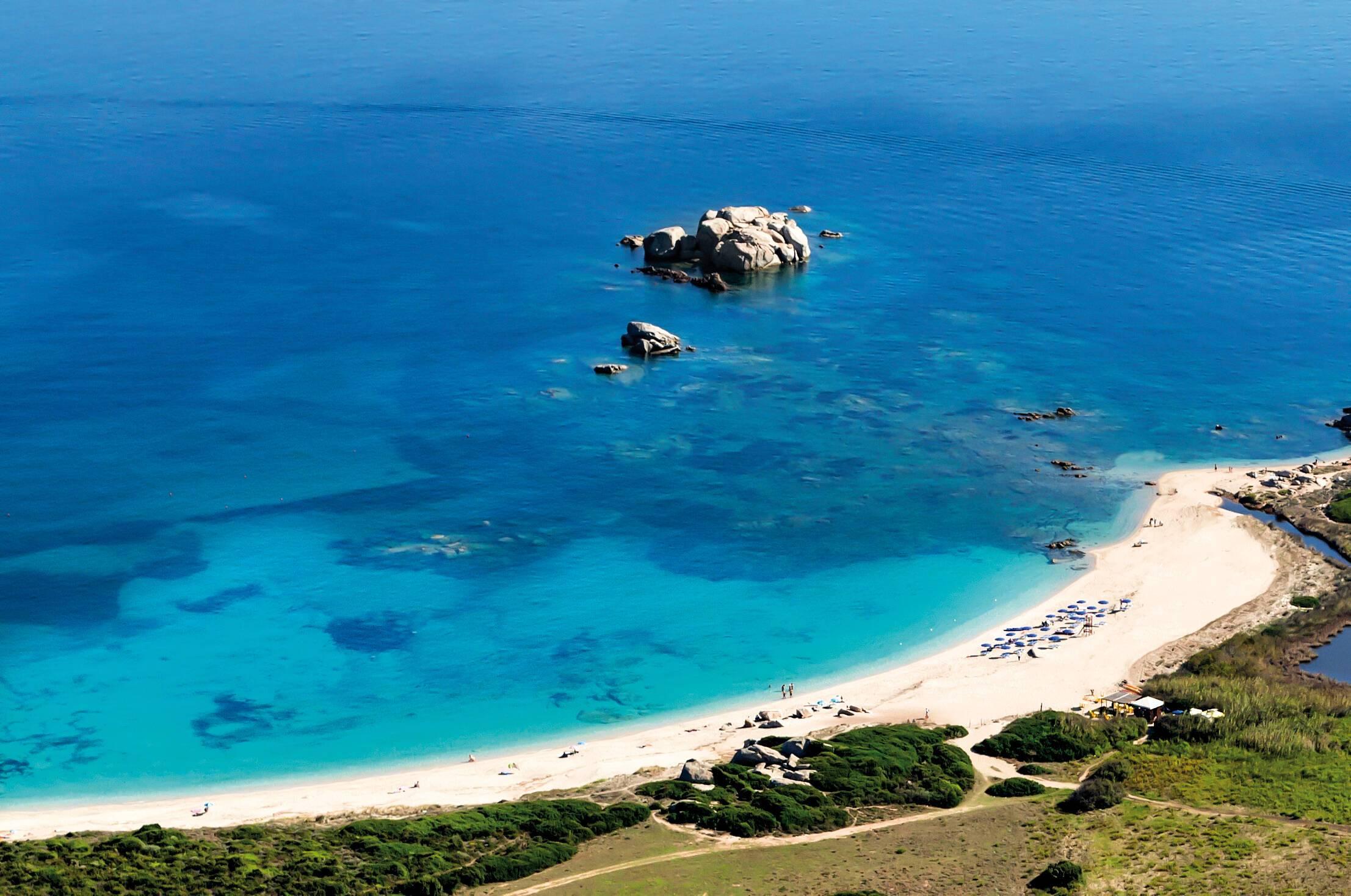 Valle Del Erica Sardaigne licciola plage