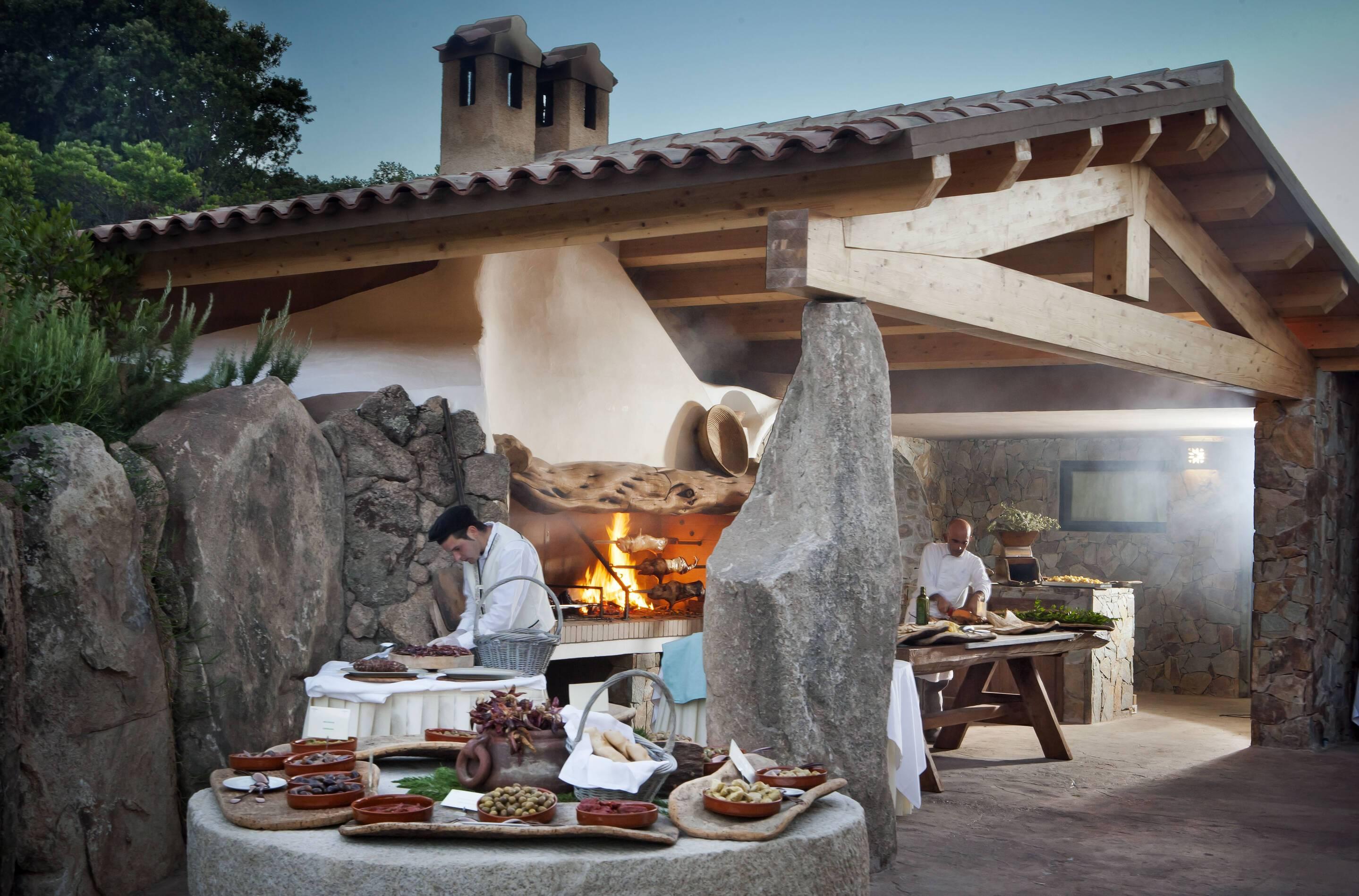 Valle Del Erica Sardaigne licciola restaurant li ciusoni