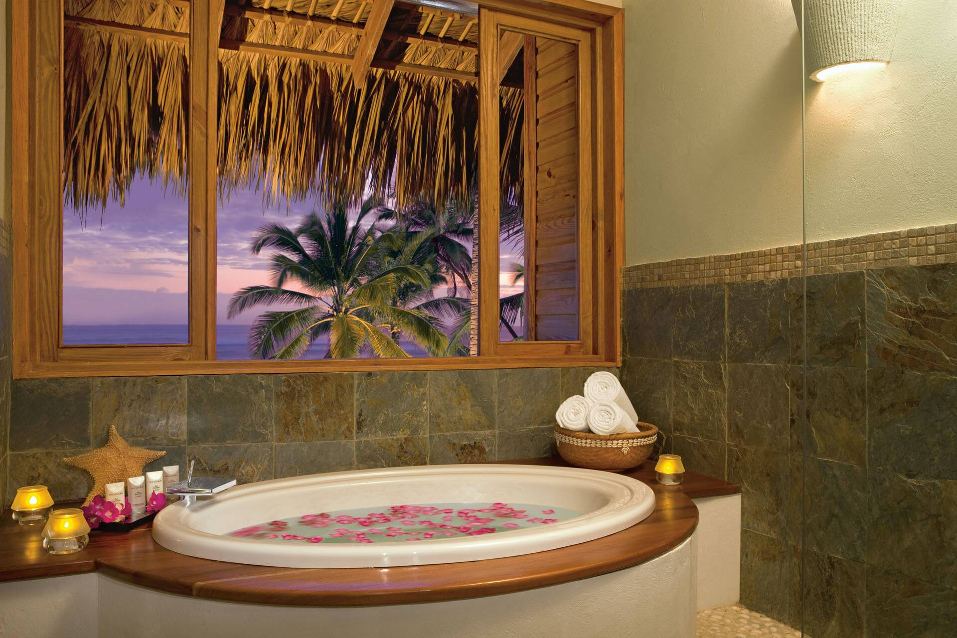 Zoetry Punta Cana Republique Dominicaine romantic junior suite bain AMResorts
