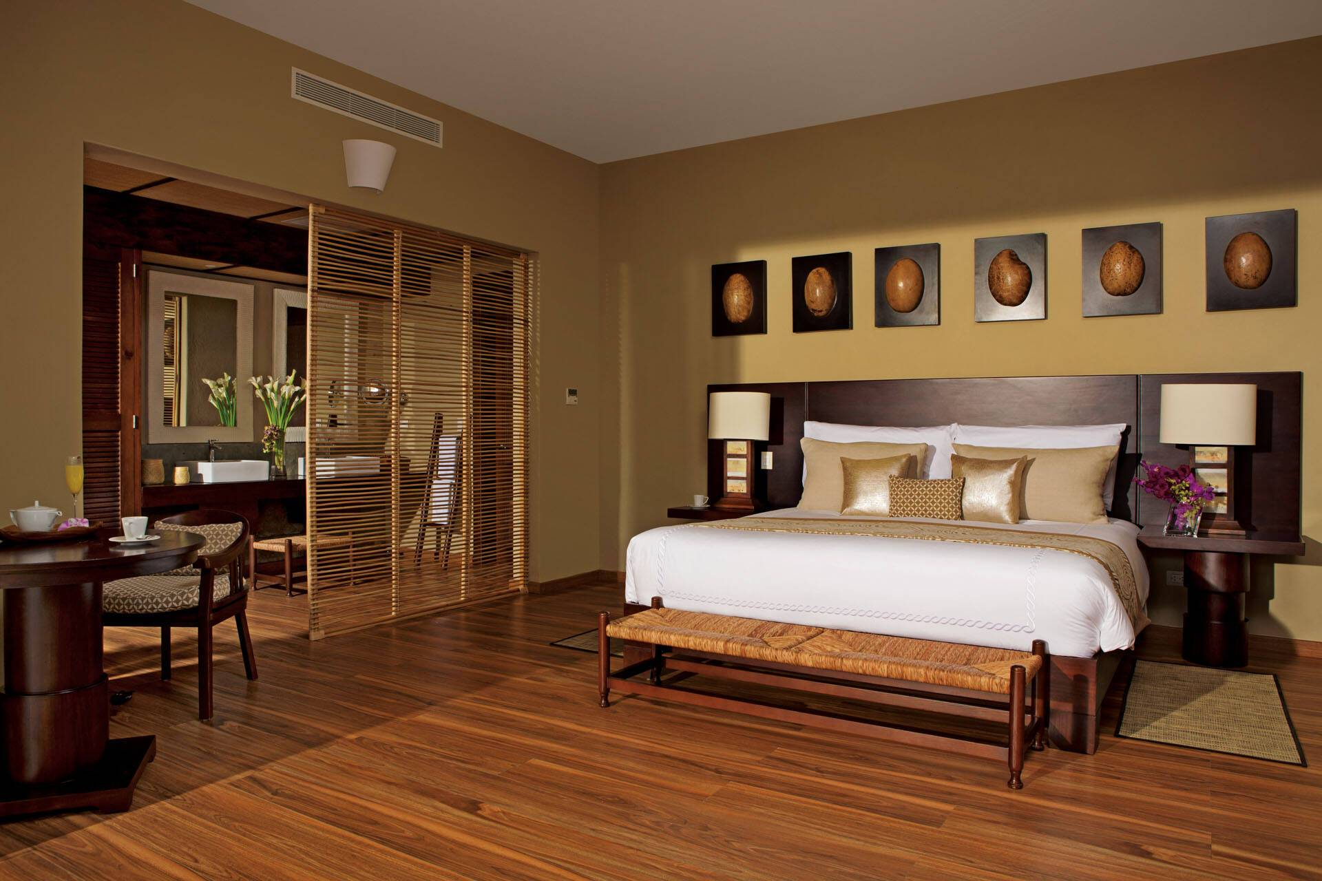 Zoetry Punta Cana Republique Dominicaine romantic junior suite chambre vue jardin AMResorts